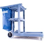 Product Image for JC1945L - Long Platform Janitorial Cart