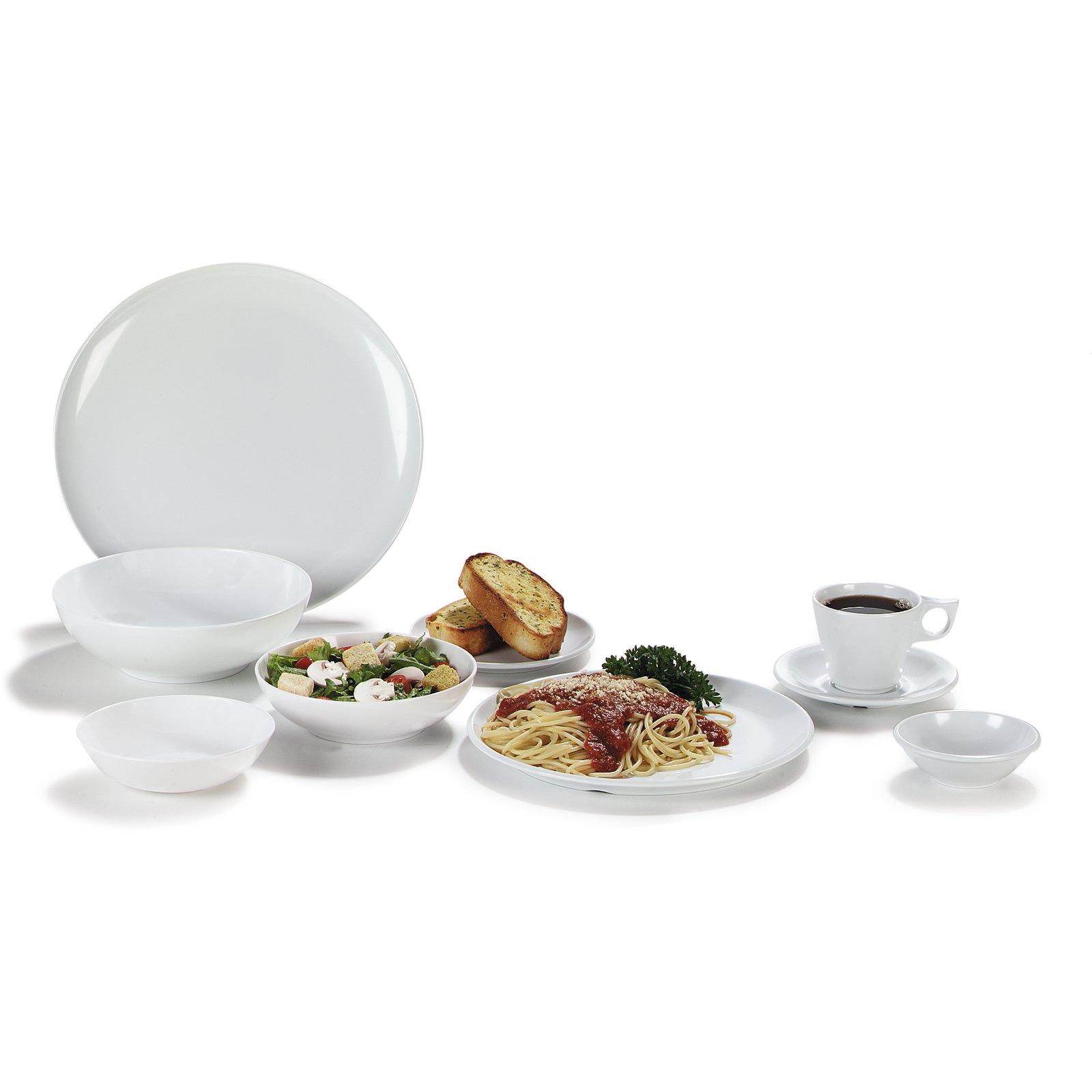 ... 4380002 - Epicure® Melamine Buffet Pizza Plate 12  - White  sc 1 st  Carlisle FoodService Products & 4380002 - Epicure® Melamine Buffet Pizza Plate 12