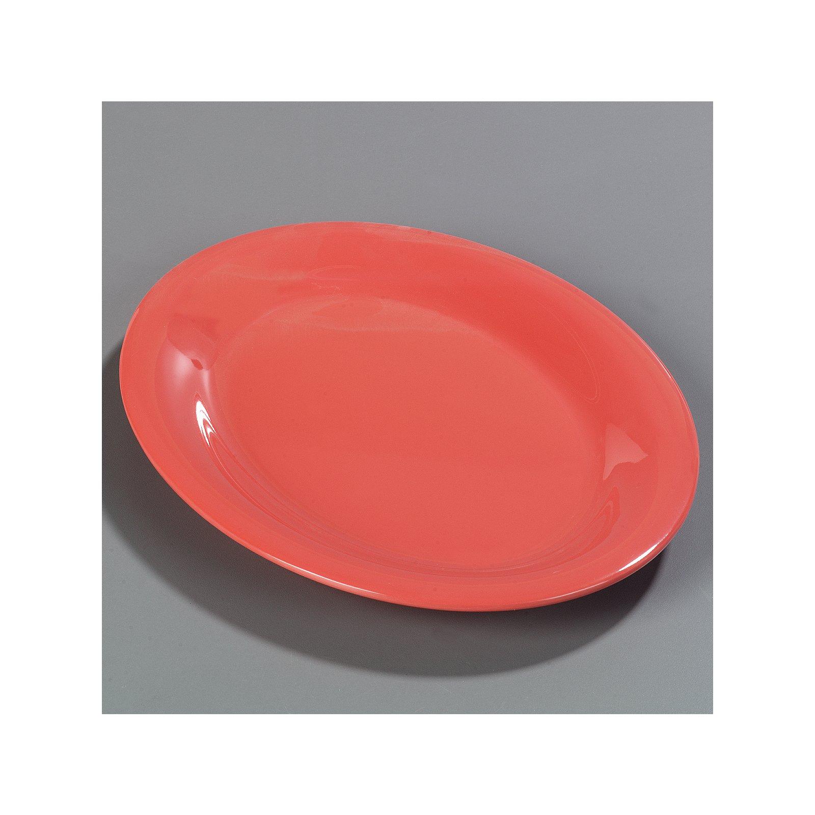 ... 3308252 - Sierrus™ Melamine Oval Platter Tray 12  x 9  - Sunset Orange  sc 1 st  Carlisle FoodService Products & 3308252 - Sierrus™ Melamine Oval Platter Tray 12