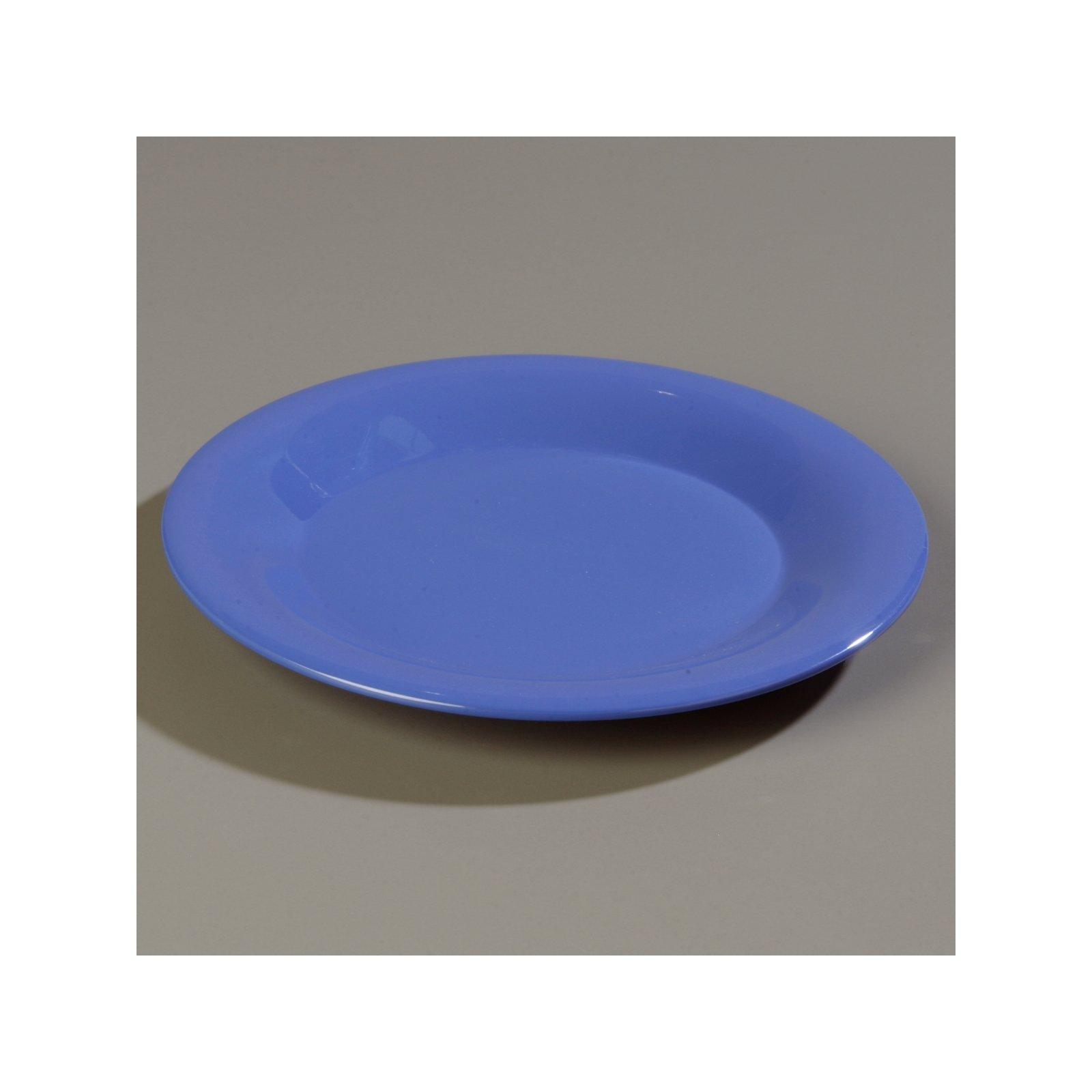 ... 3301214 - Sierrus™ Melamine Wide Rim Dinner Plate 9\  - Ocean Blue  sc 1 st  Carlisle FoodService Products & 3301214 - Sierrus™ Melamine Wide Rim Dinner Plate 9\