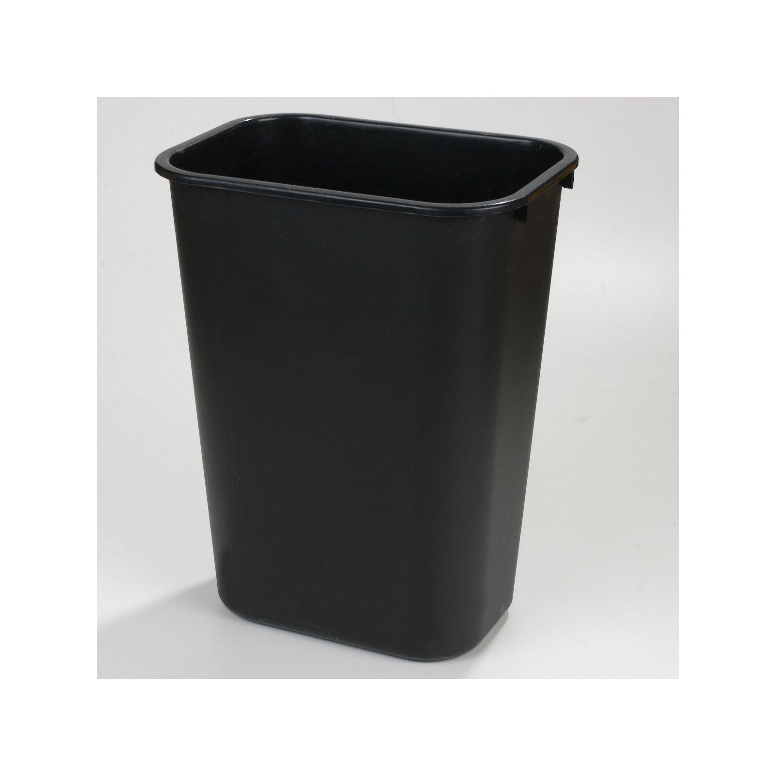 Good ... 34294103   Rectangle Office Wastebasket Trash Can 41 Quart   Black
