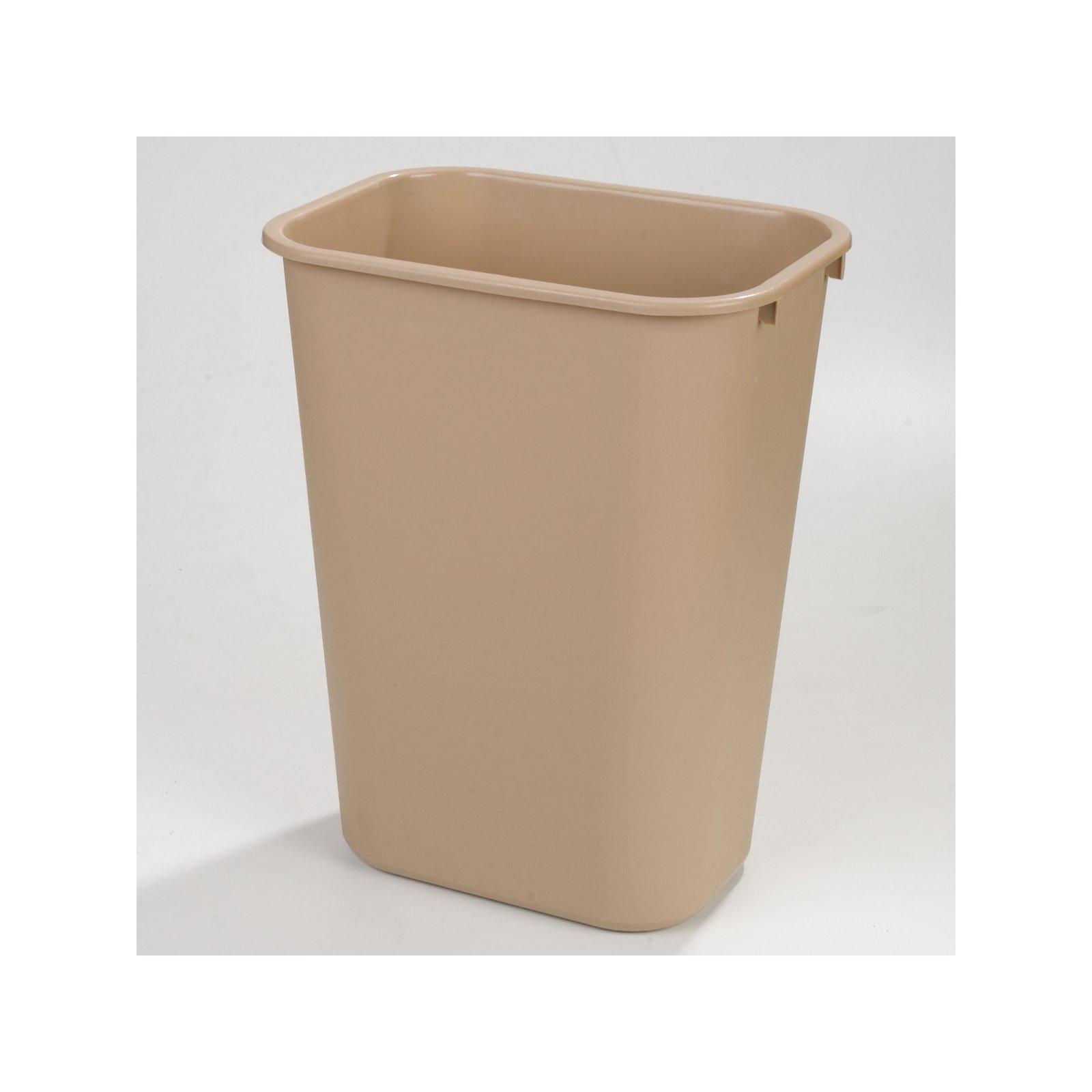 34294106 Rectangle Office Wastebasket Trash Can 41 Quart