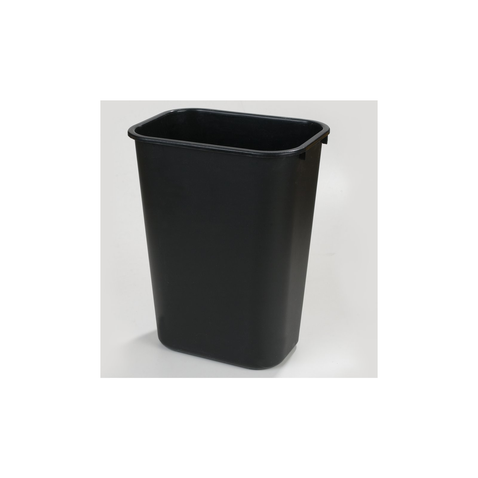 ... 34292803   Rectangle Office Wastebasket Trash Can 28 Quart   Black