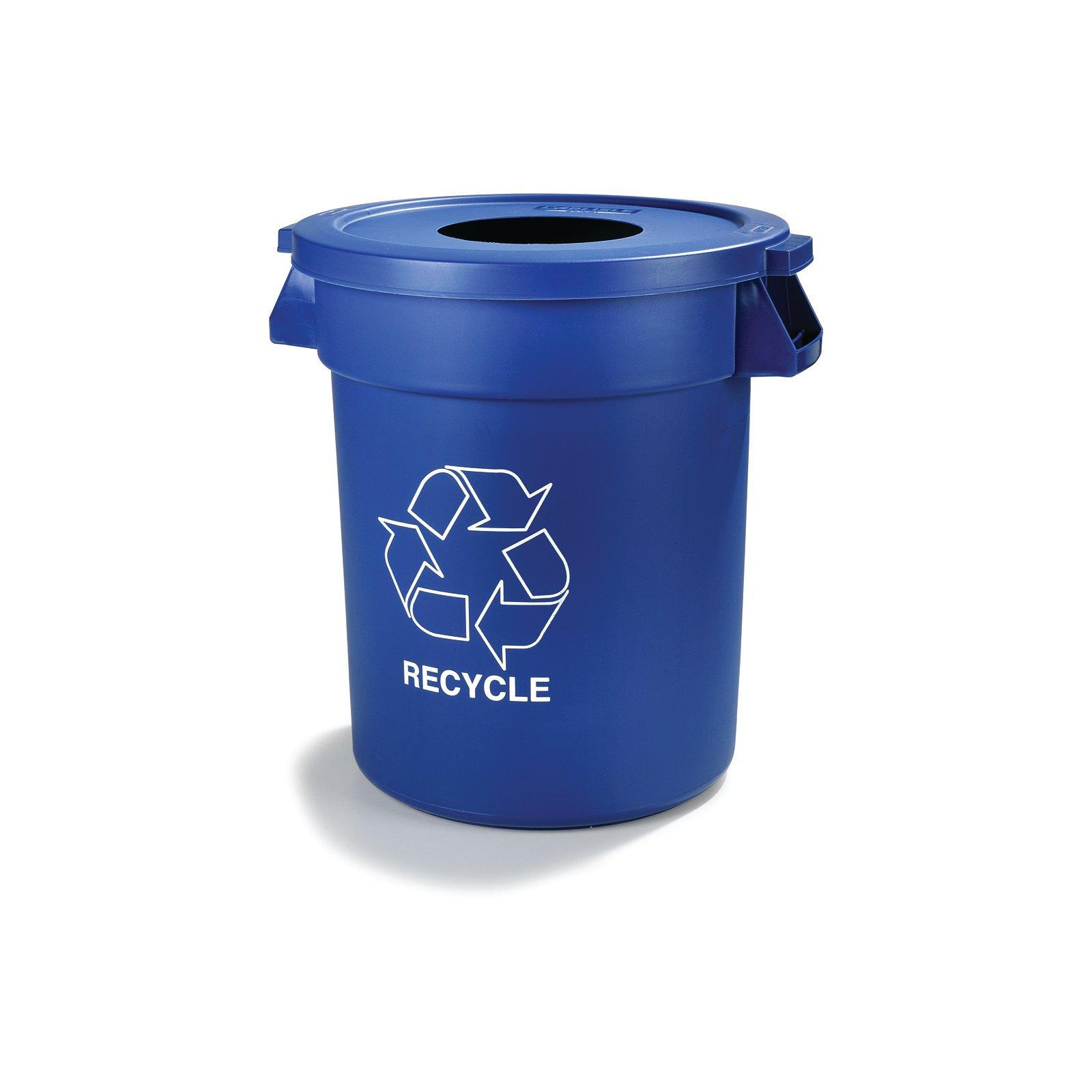 341045rec14 Bronco Round Recycle Lid With 8 Quot Receptacle