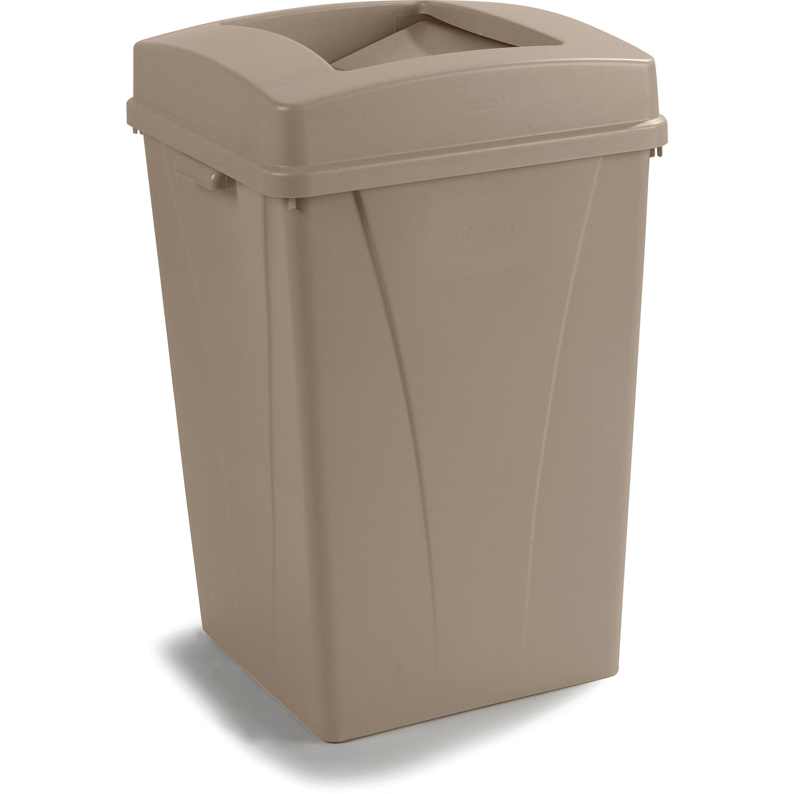 34393506 Centurian Square Waste Container Trash Can 35 Gallon