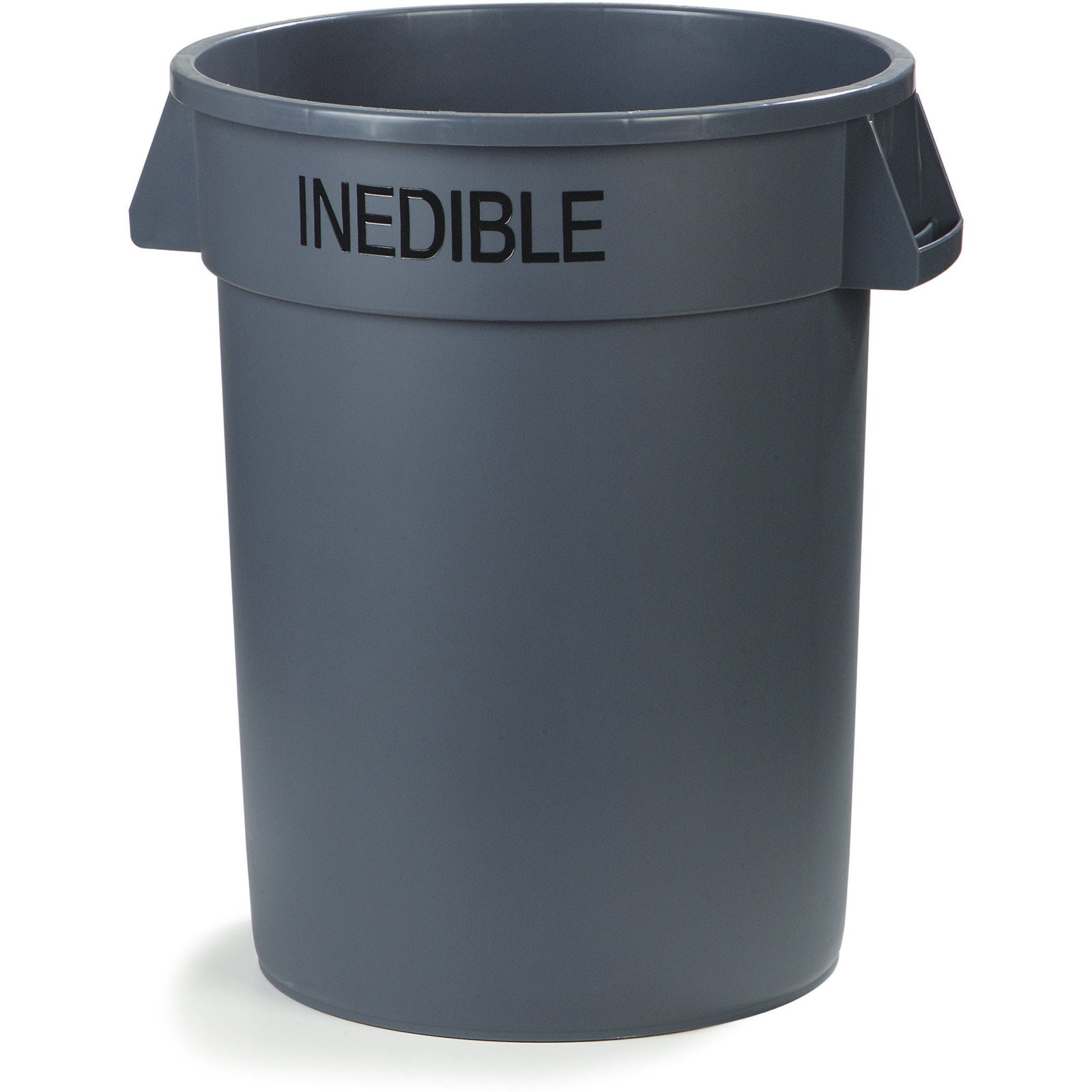 341032inea23 Bronco Round Inedible Waste Container 32