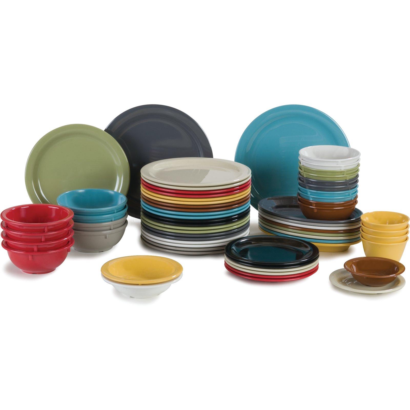 ... 4385443 - Dayton™ Melamine Salad Plate 7.25  - Toffee  sc 1 st  Carlisle FoodService Products & 4385443 - Dayton™ Melamine Salad Plate 7.25