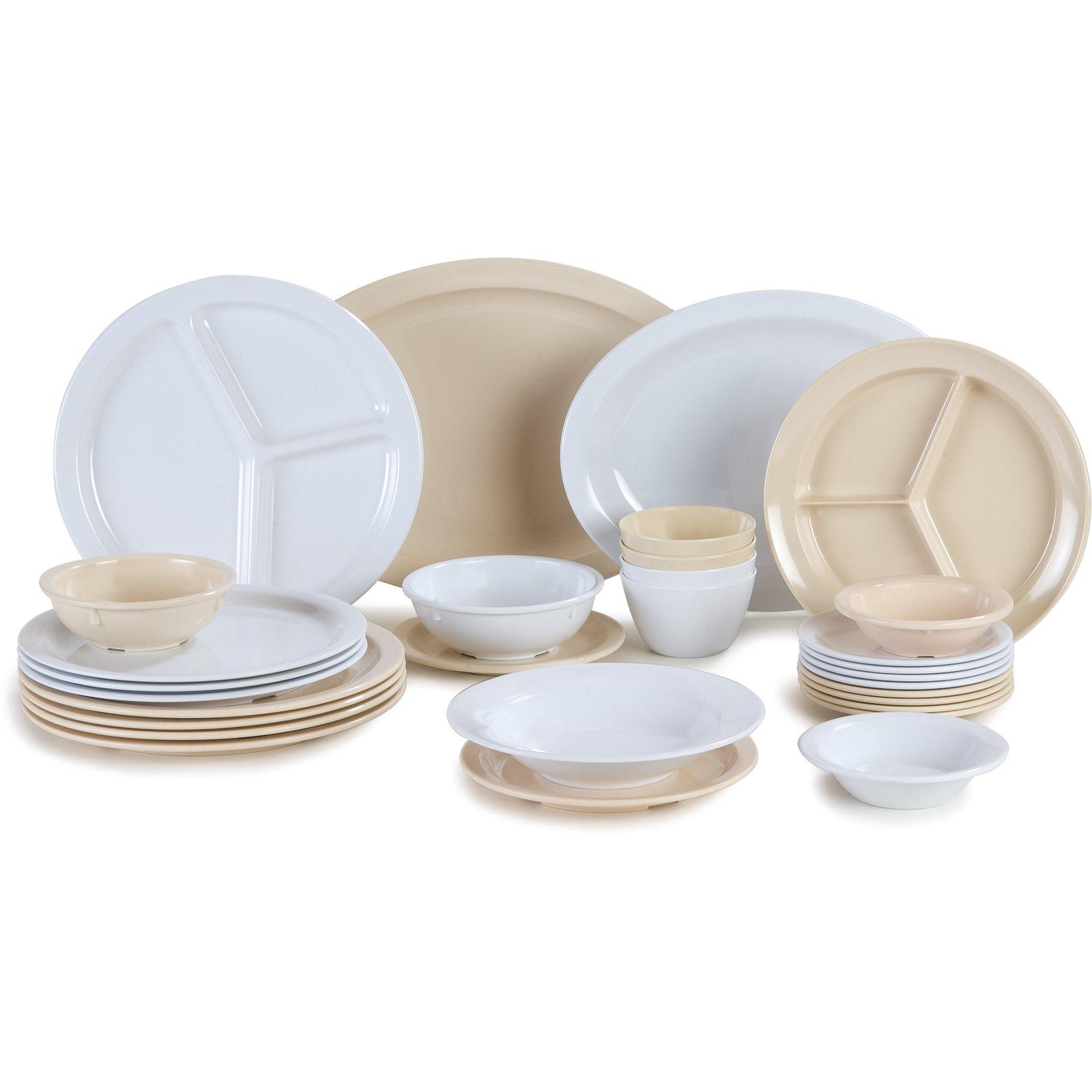 KL11602 - Kingline™ Melamine Dinner Plate 10  - White  sc 1 st  Carlisle FoodService Products & KL11602 - Kingline™ Melamine Dinner Plate 10