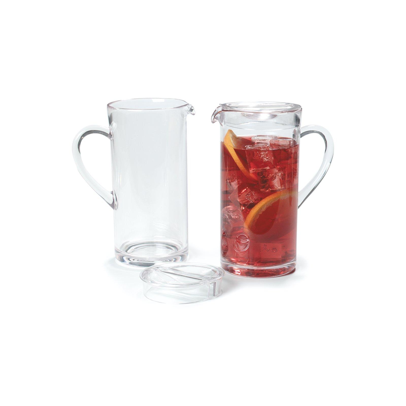 557007 elan pitcher 58 oz clear carlisle foodservice products. Black Bedroom Furniture Sets. Home Design Ideas