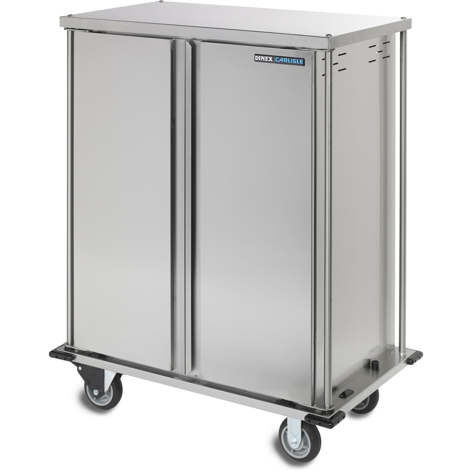 DXTQ1T2D10 - 10 Tray Cart Double Door One Tray per Slide 44.14\  x 27.58\  x 45.06\  - Stainless Steel  sc 1 st  Carlisle FoodService Products & DXTQ1T2D10 - 10 Tray Cart Double Door One Tray per Slide 44.14\