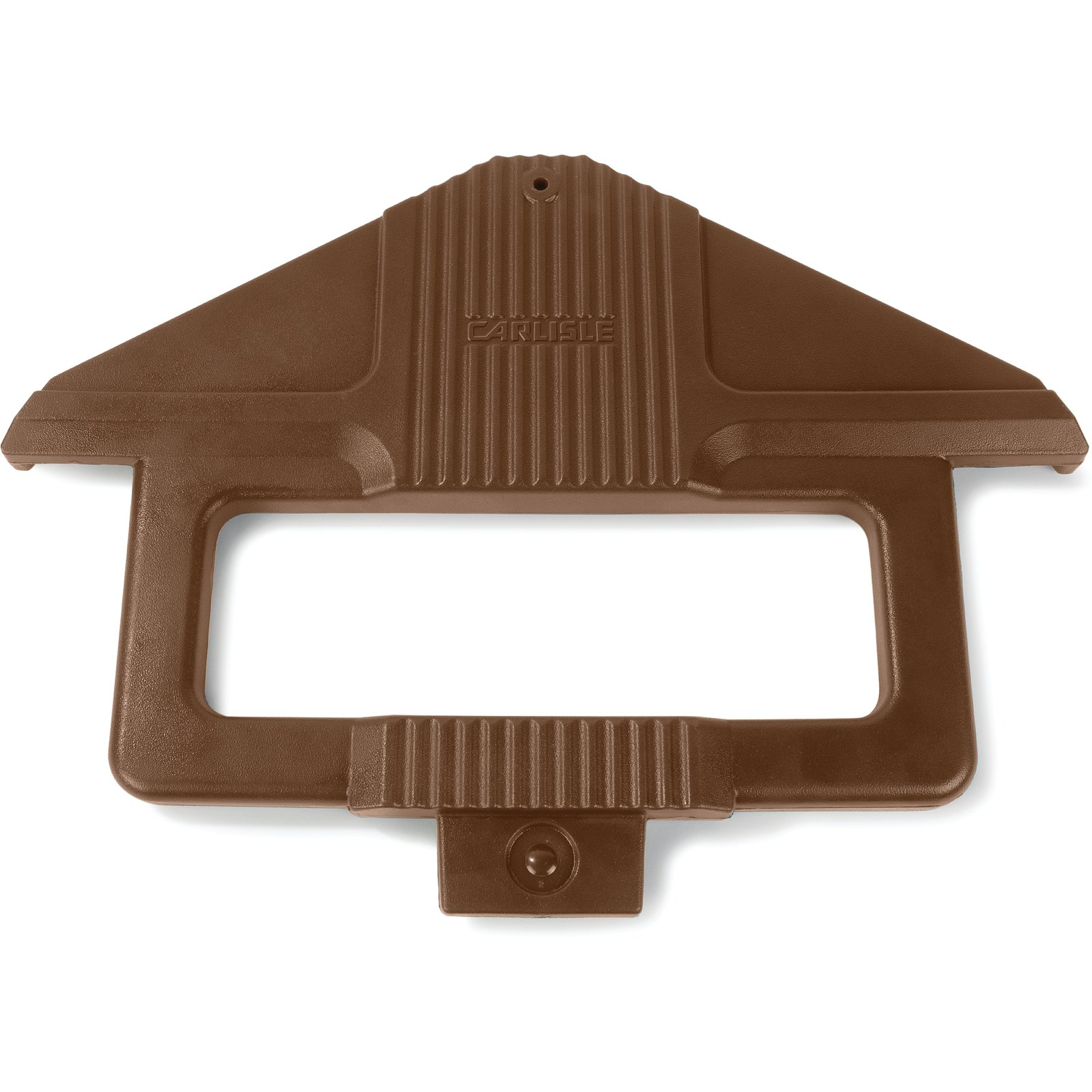 668401 - Six Star™ Sneeze Guard Post - Brown