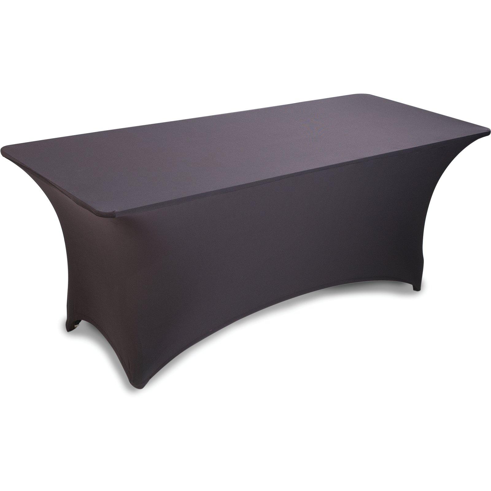Tableware Serving Linen Black Polyester Spandex Stretch Fabric Table Cover 30 X 72 Home Furniture Diy Tohoku Morinagamilk Co Jp