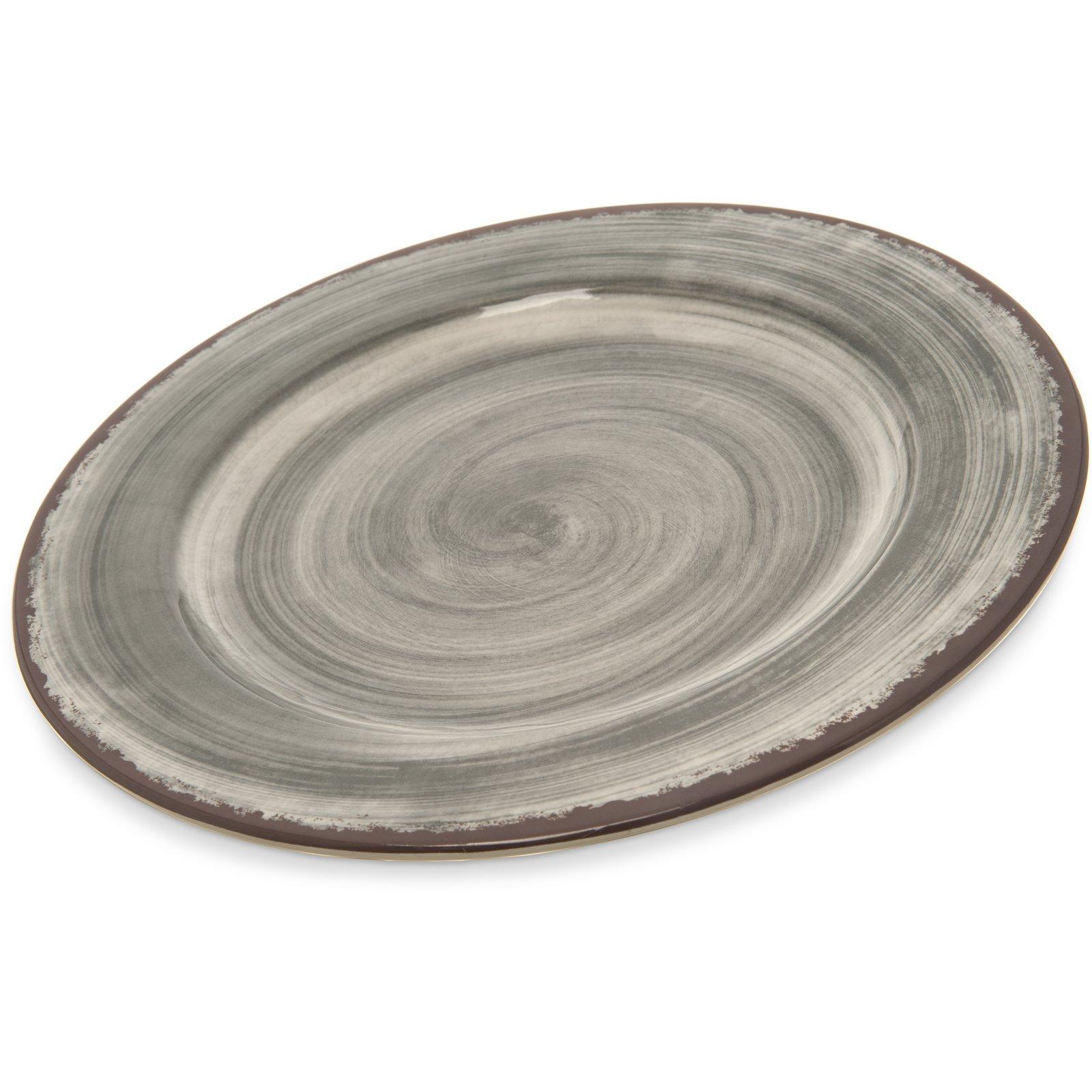 5400118 - Mingle Melamine Dinner Plate 11  - Smoke  sc 1 st  Carlisle FoodService Products & 5400118 - Mingle Melamine Dinner Plate 11