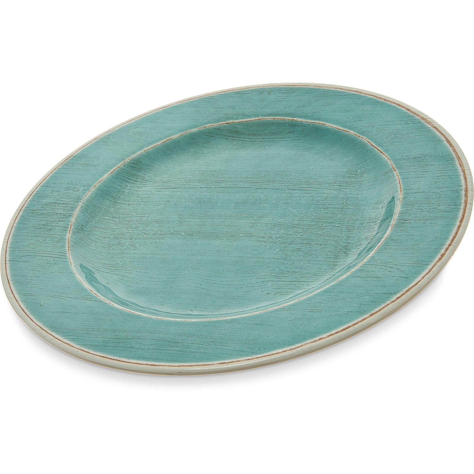 6400115 - Grove Melamine Dinner Plate 11  - Aqua  sc 1 st  Carlisle FoodService Products & 6400115 - Grove Melamine Dinner Plate 11
