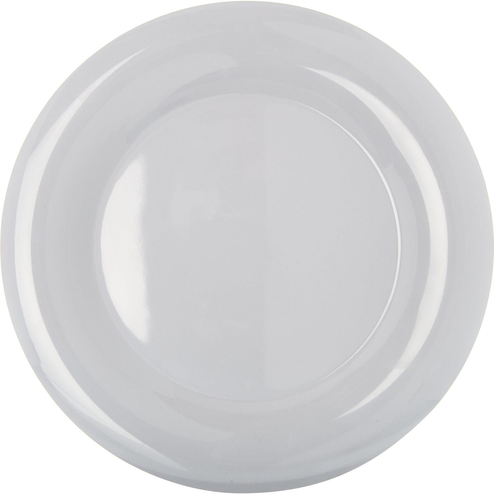 ... 4302402 - Durus® Melamine Wide Rim Round Plate 12  - White  sc 1 st  Carlisle FoodService Products & 4302402 - Durus® Melamine Wide Rim Round Plate 12