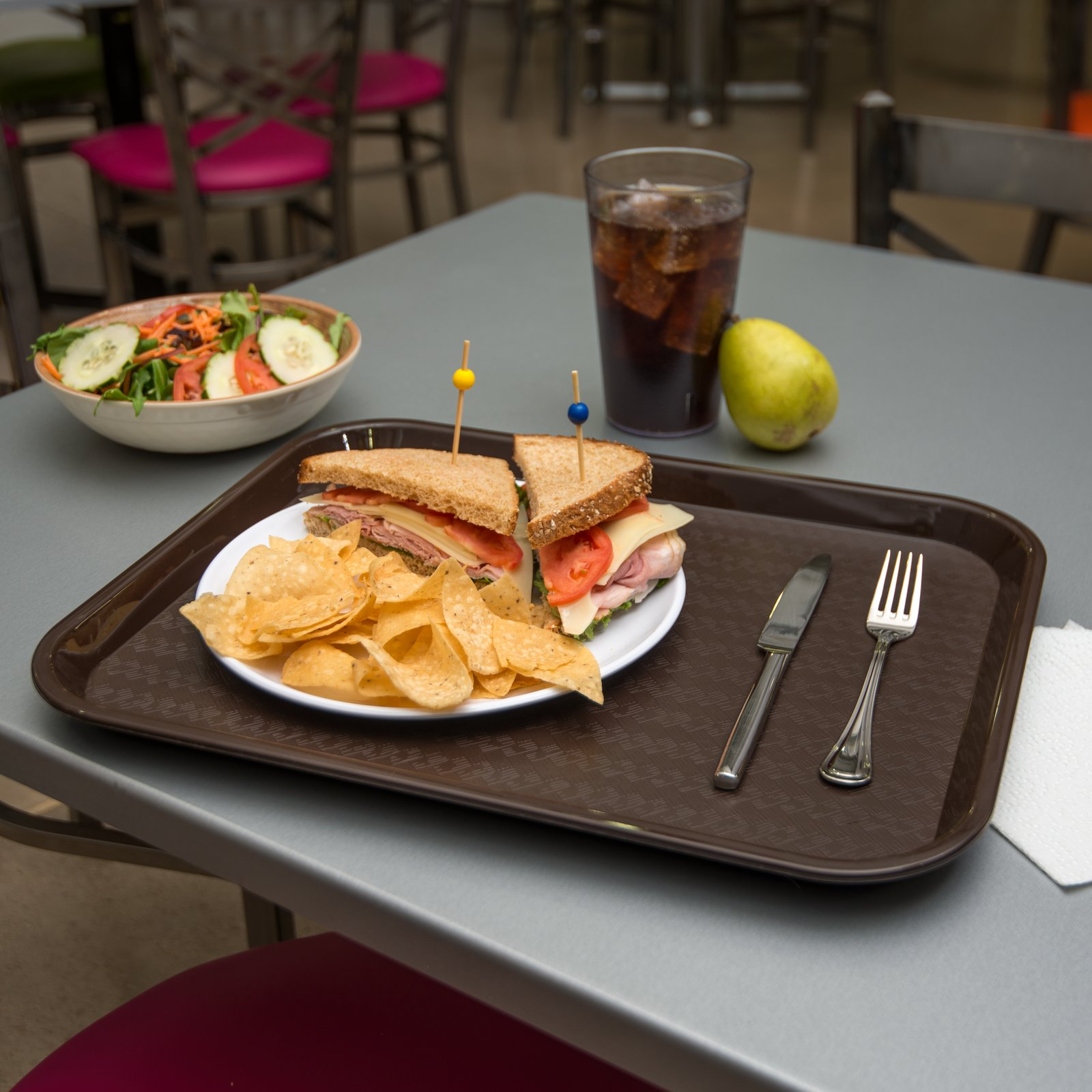 """Cafe® Fast Food Cafeteria Tray 14"""" X 18"""
