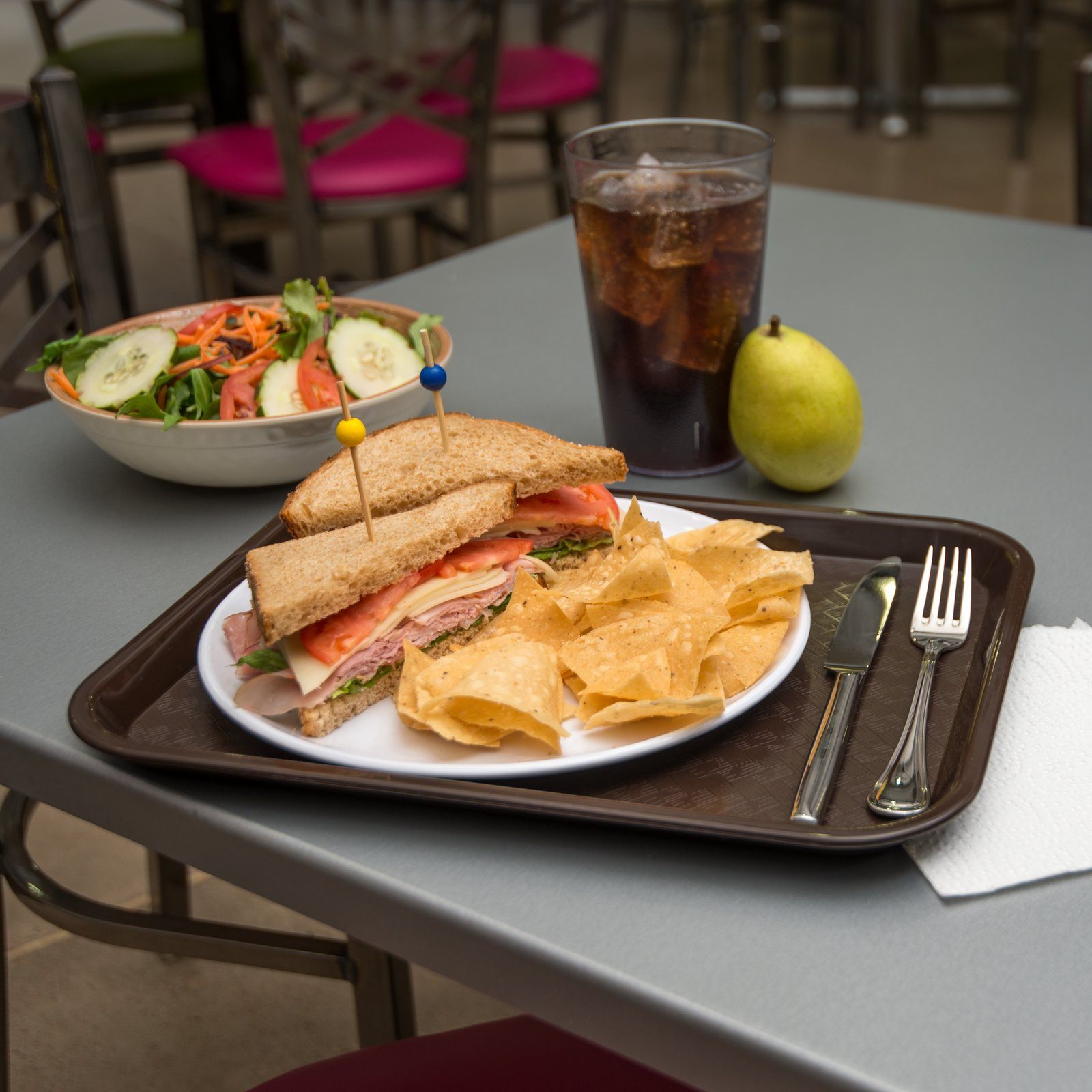 """Cafe® Fast Food Cafeteria Tray 10"""" X 14"""