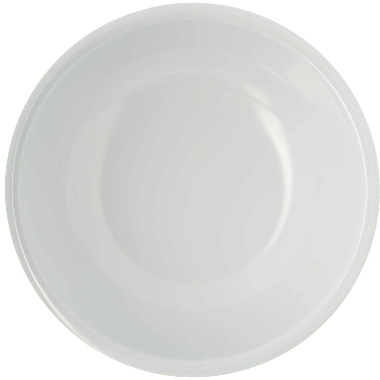 593302 Epicure Melamine Soup Salad Broth Bowl 32 Oz White Carlisle Foodservice Products