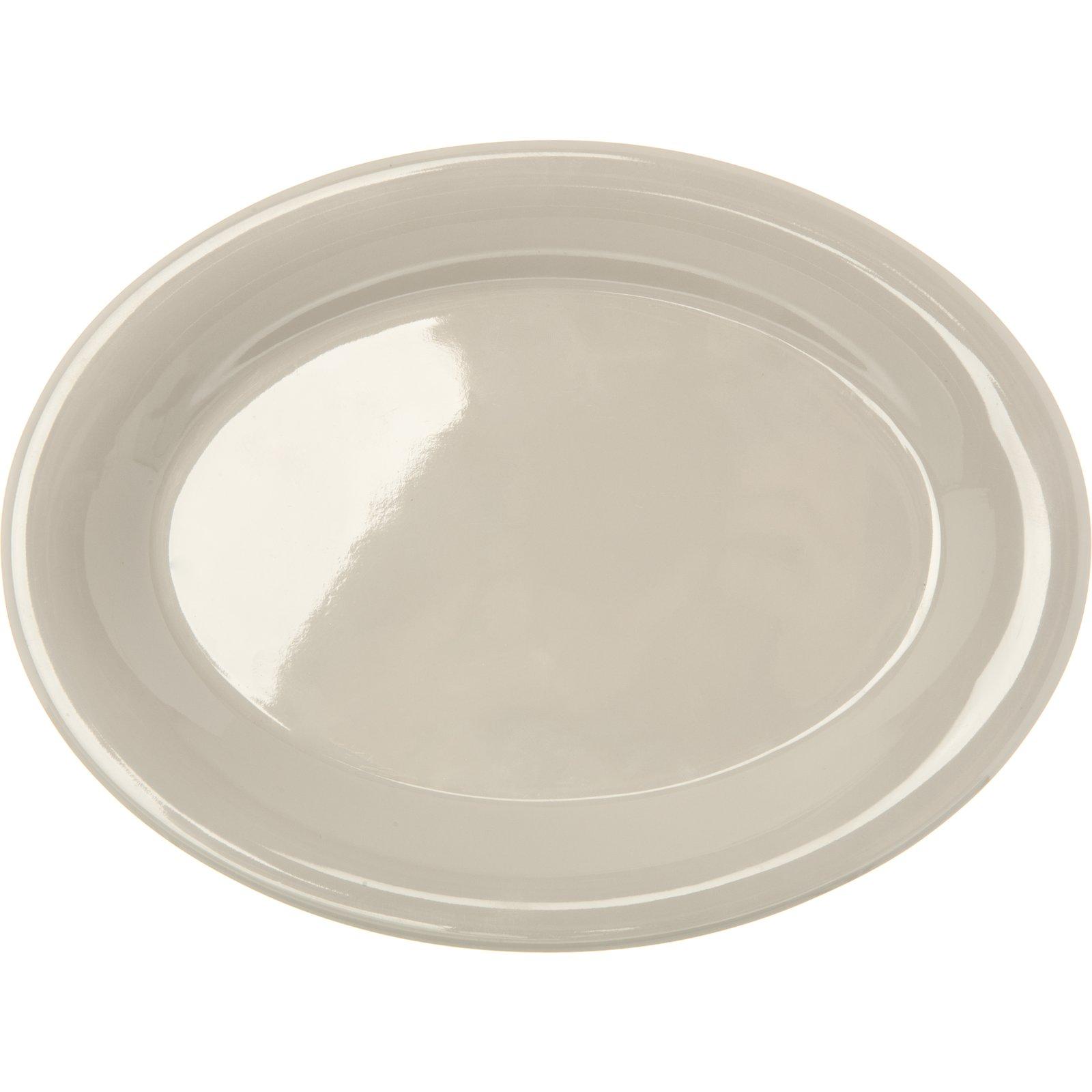 ... 4308642 - Durus® Melamine Oval Platter Tray 9.5  x 7.25  - Bone  sc 1 st  Carlisle FoodService Products & 4308642 - Durus® Melamine Oval Platter Tray 9.5
