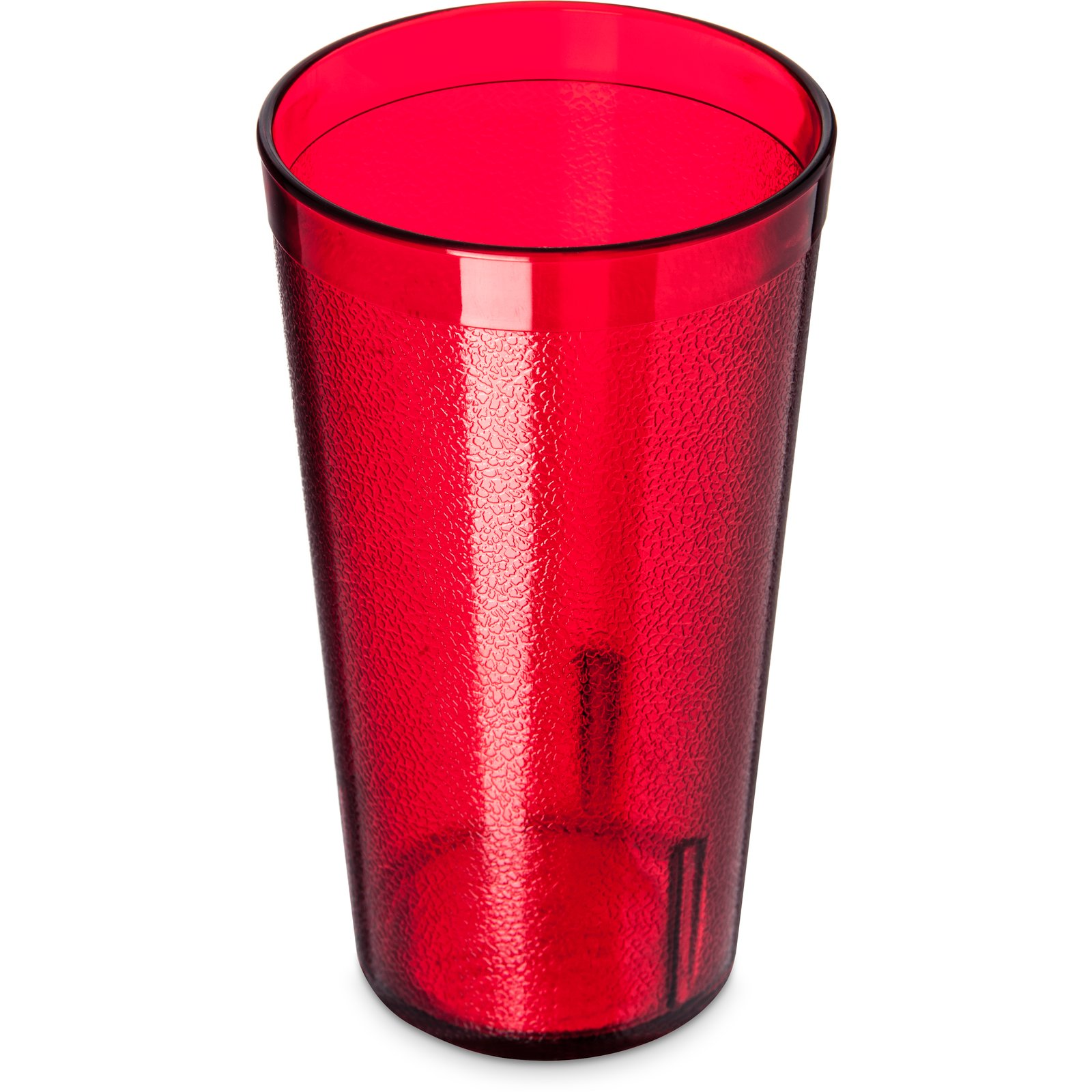Cash N Carry >> 521610 - Stackable™ SAN Plastic Tumbler 16 oz - Ruby | Carlisle FoodService Products