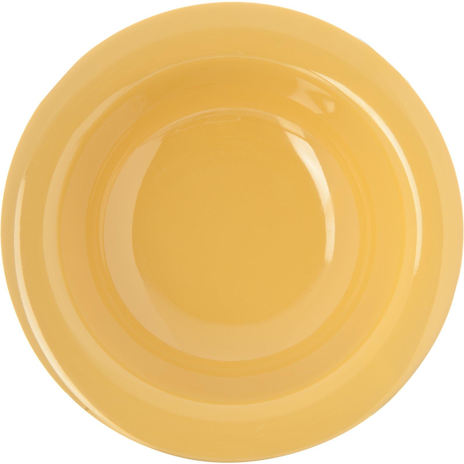 ... 4304222 - Durus® Melamine Rimmed Fruit Bowl 4.5 oz - Honey Yellow  sc 1 st  Carlisle FoodService Products & 4304222 - Durus® Melamine Rimmed Fruit Bowl 4.5 oz - Honey Yellow ...