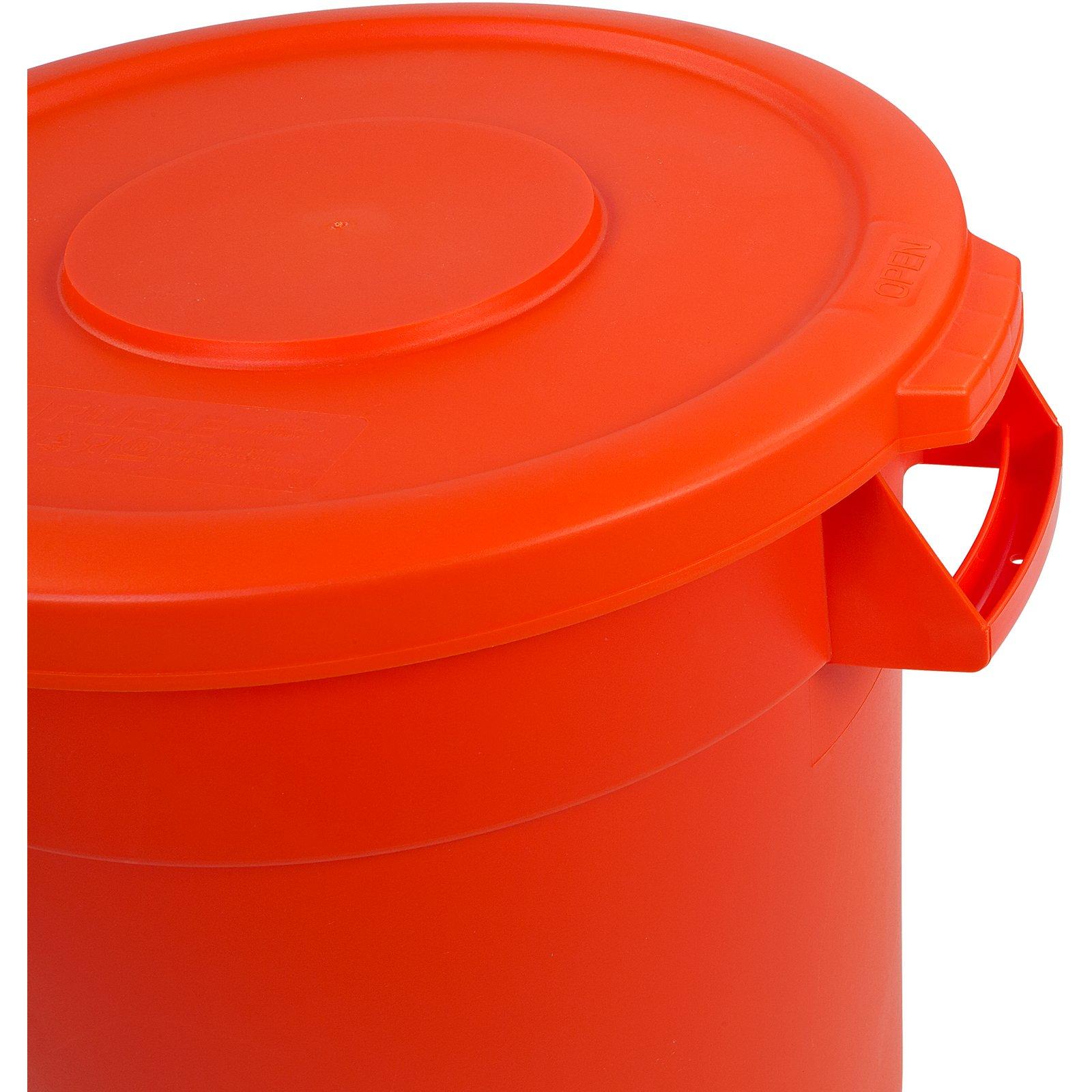 34101024 - Bronco™ Round Waste Bin Food Container 10 Gallon - Orange  sc 1 st  Carlisle FoodService Products & 34101024 - Bronco™ Round Waste Bin Food Container 10 Gallon - Orange ...