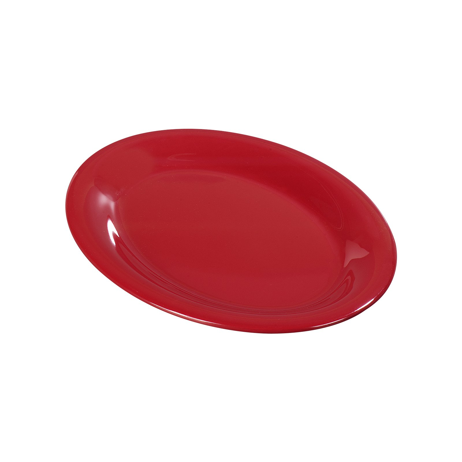 3308605 - Sierrus™ Melamine Oval Platter Tray 9.5\  x 7.25\  - Red  sc 1 st  Carlisle FoodService Products & 3308605 - Sierrus™ Melamine Oval Platter Tray 9.5\