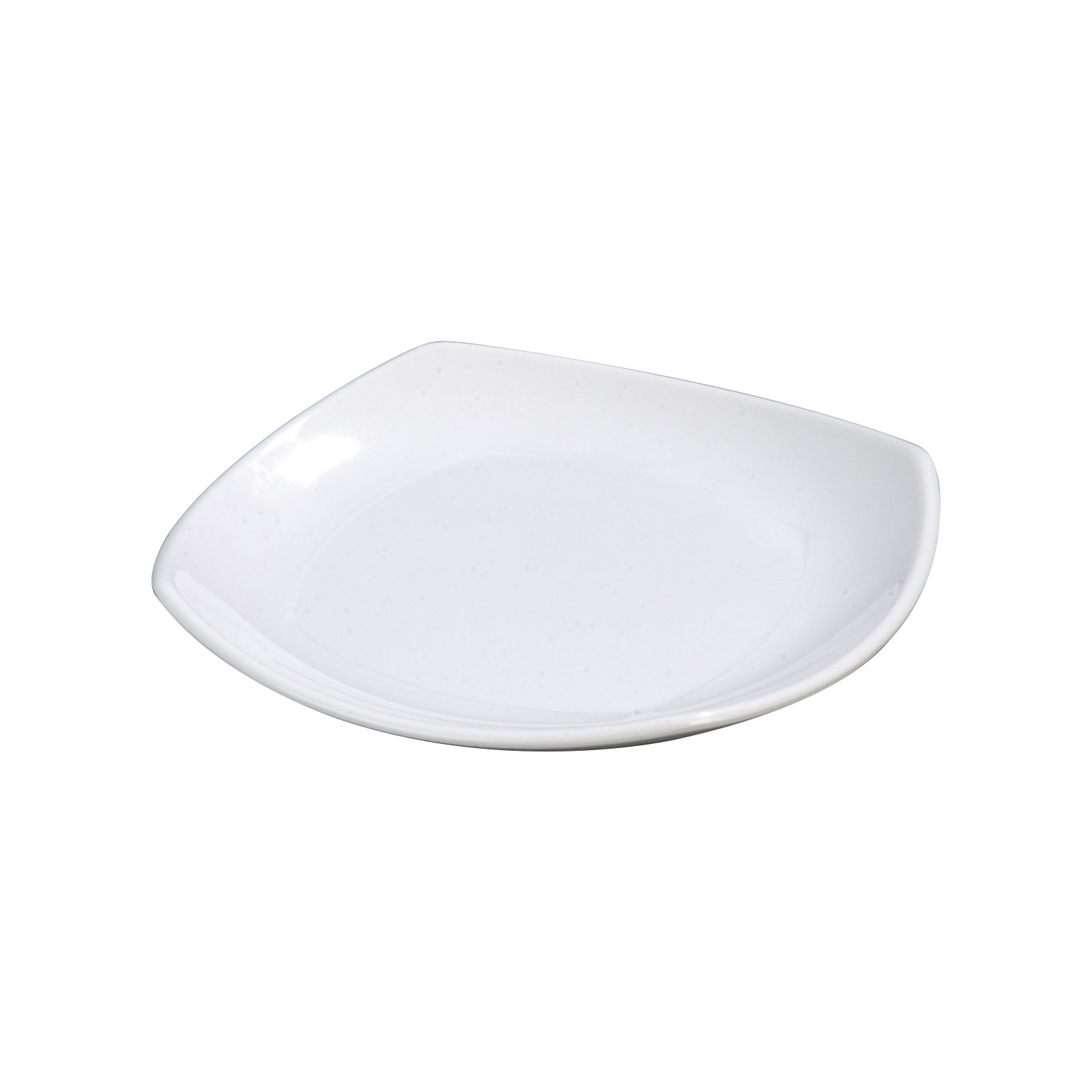 4330802 - Melamine Upturned Corner Small Square Plate 7.75  - White  sc 1 st  Carlisle FoodService Products & 4330802 - Melamine Upturned Corner Small Square Plate 7.75