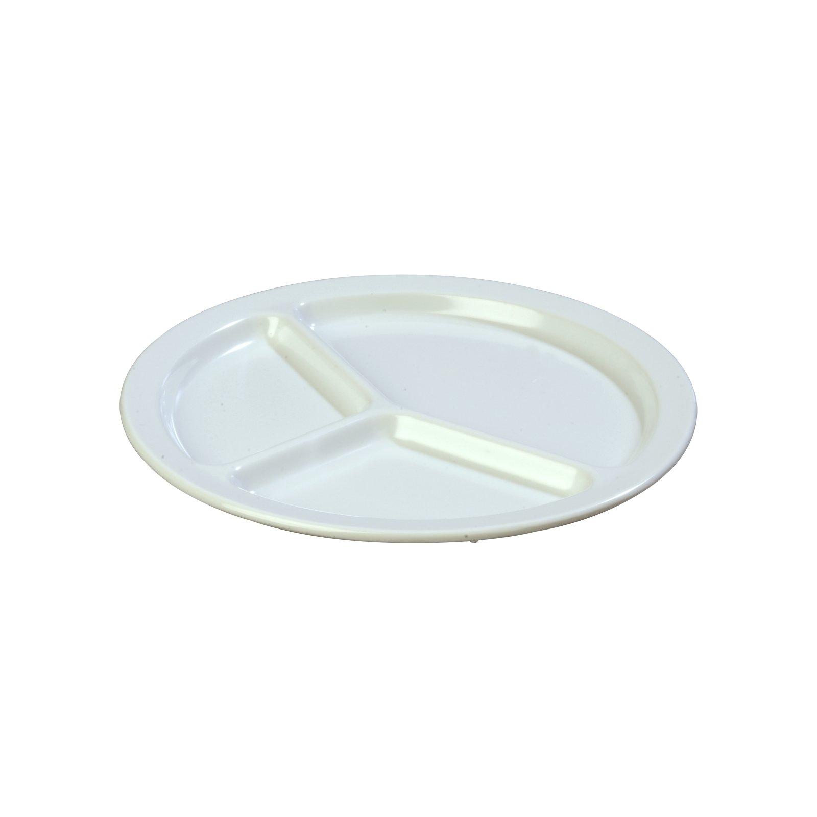 KL10202 - Kingline™ Melamine 3-Compartment Plate 10\