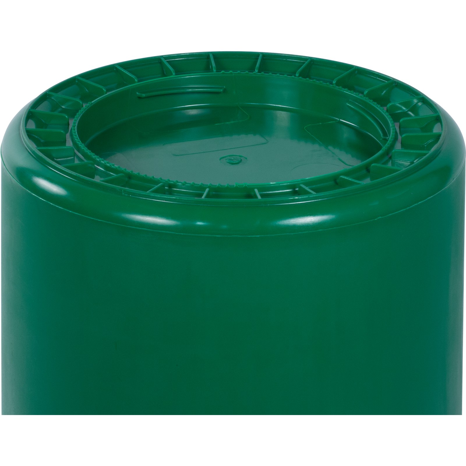 34102009 bronco round waste bin food container 20 gallon green carlisle foodservice products - Garden waste containers ...