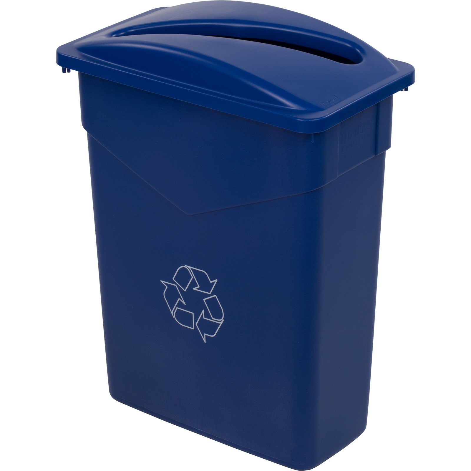 342015rec14 trimline rectangle recycle waste container for Surface container