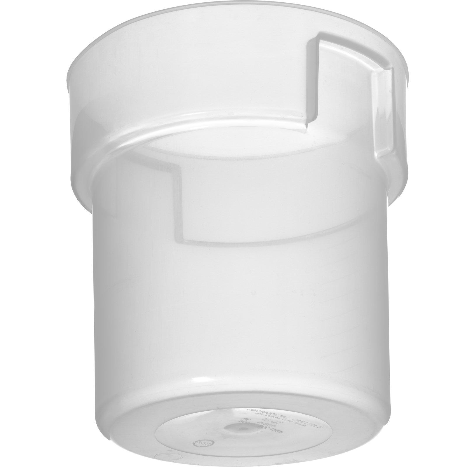 180530 Bains Marie Food Storage Container 18 Qt Translucent