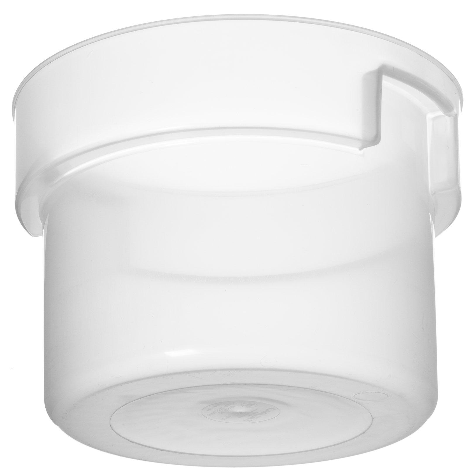 120530 Bains Marie Food Storage Container 12 qt Translucent