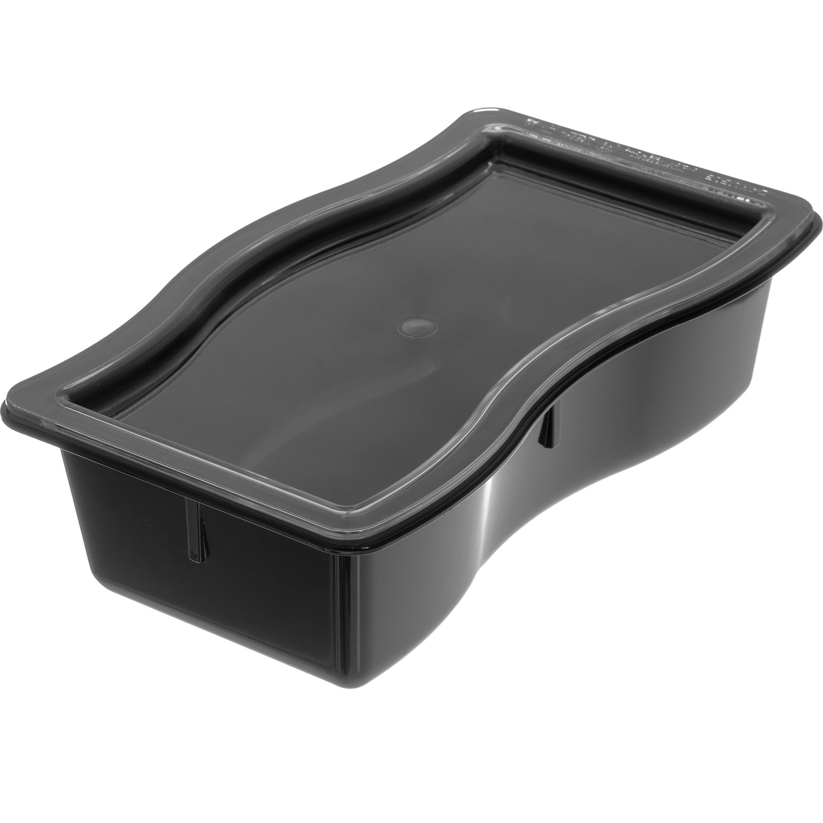 6984l07 Modular Displayware Half Size Lid Clear Carlisle Foodservice Products