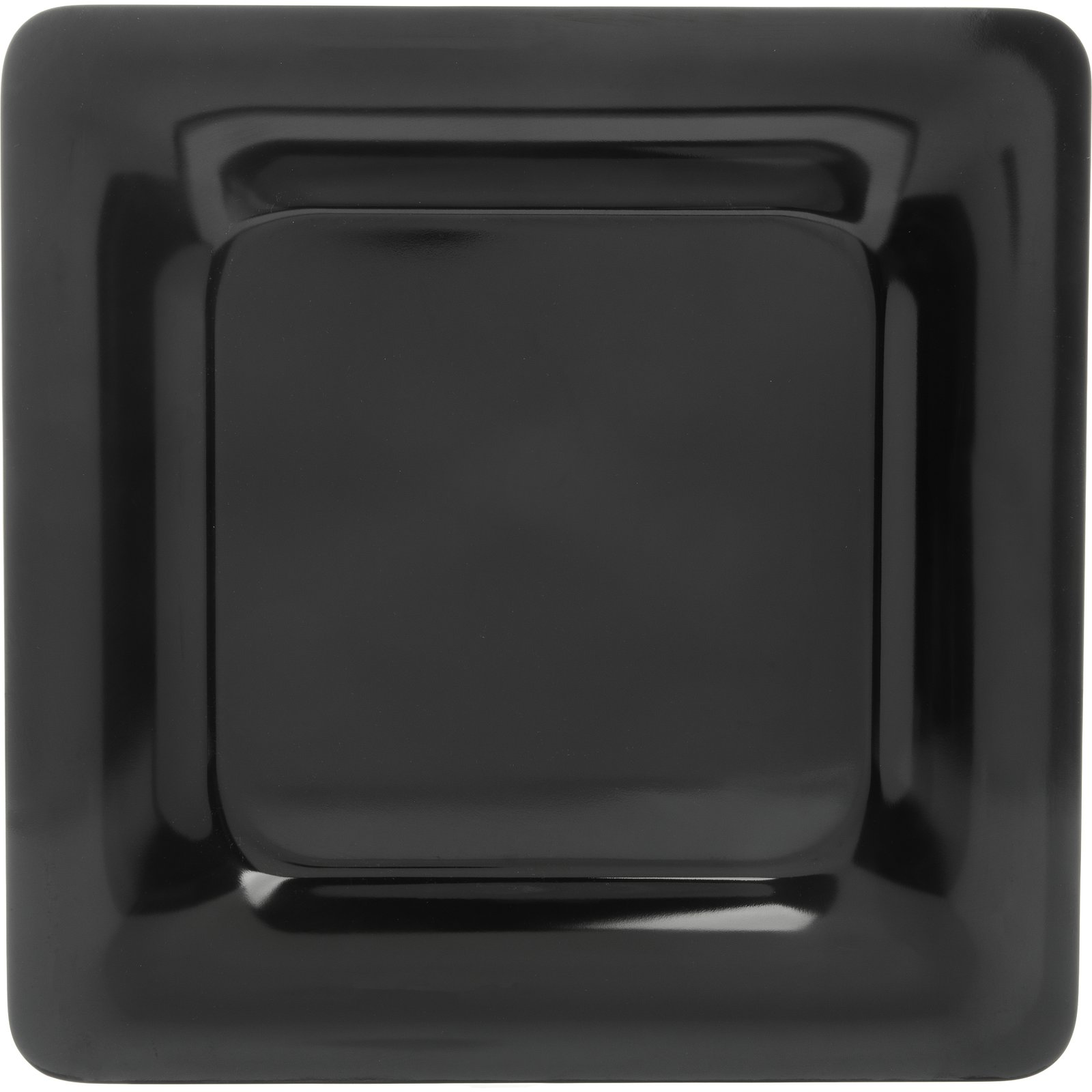 ... 4440003 - Designer Displayware™ Wide Rim Square Plate 12  - Black  sc 1 st  Carlisle FoodService Products : square plate designs - pezcame.com