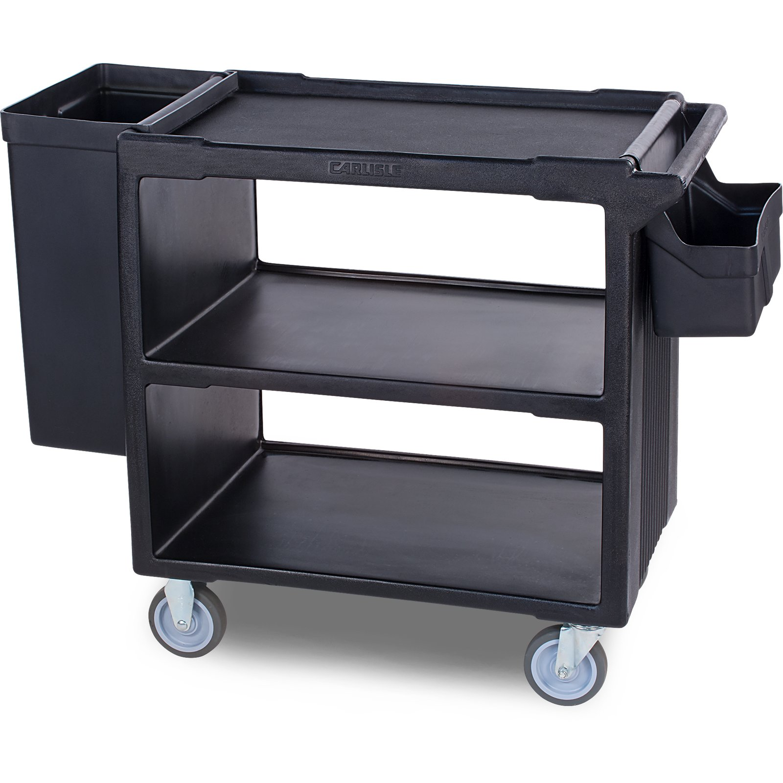 sbc11sh03 silverware holder for service cart sbc230 black - Silverware Holder