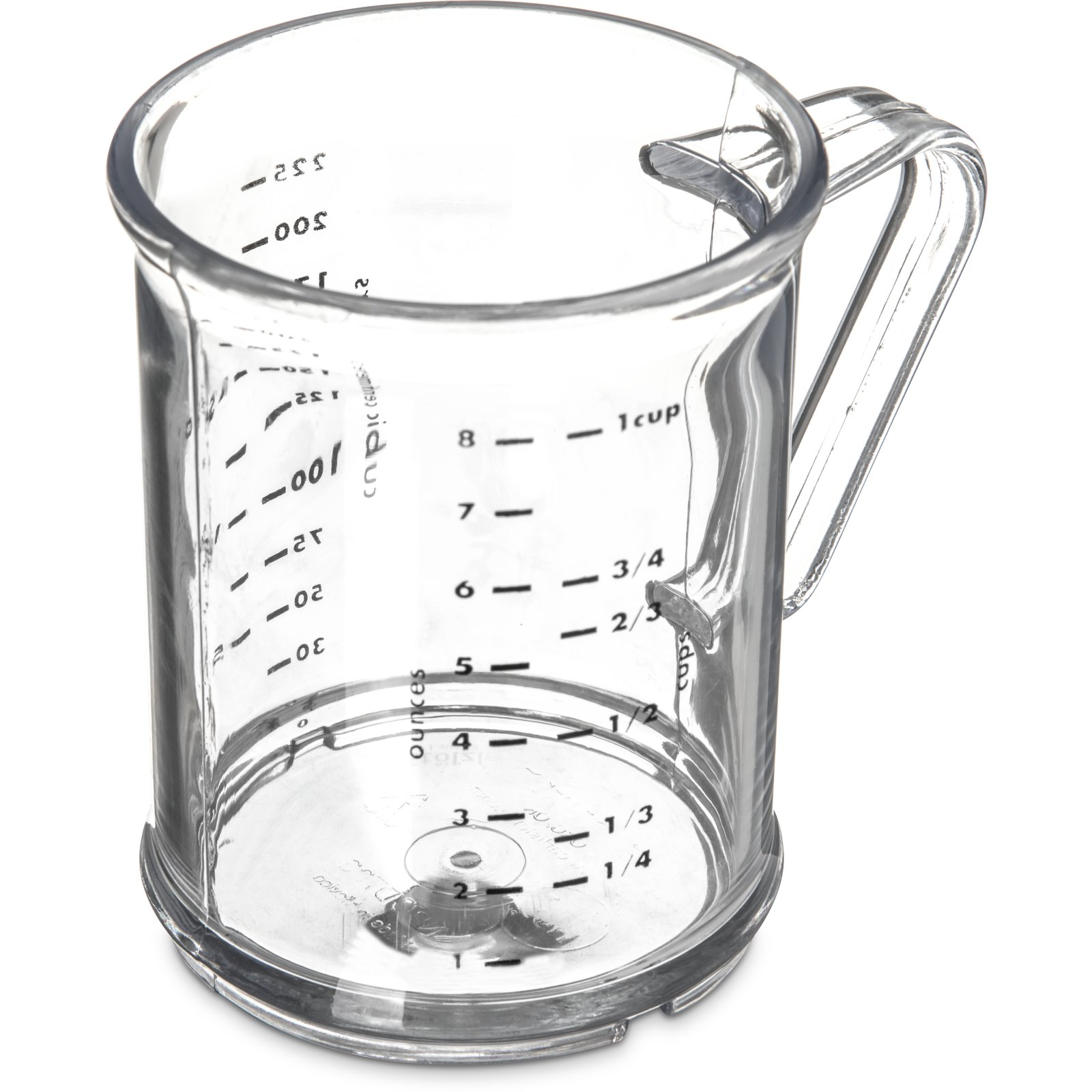 431507 Measuring Cup 1 Cup 8 Oz Clear Carlisle