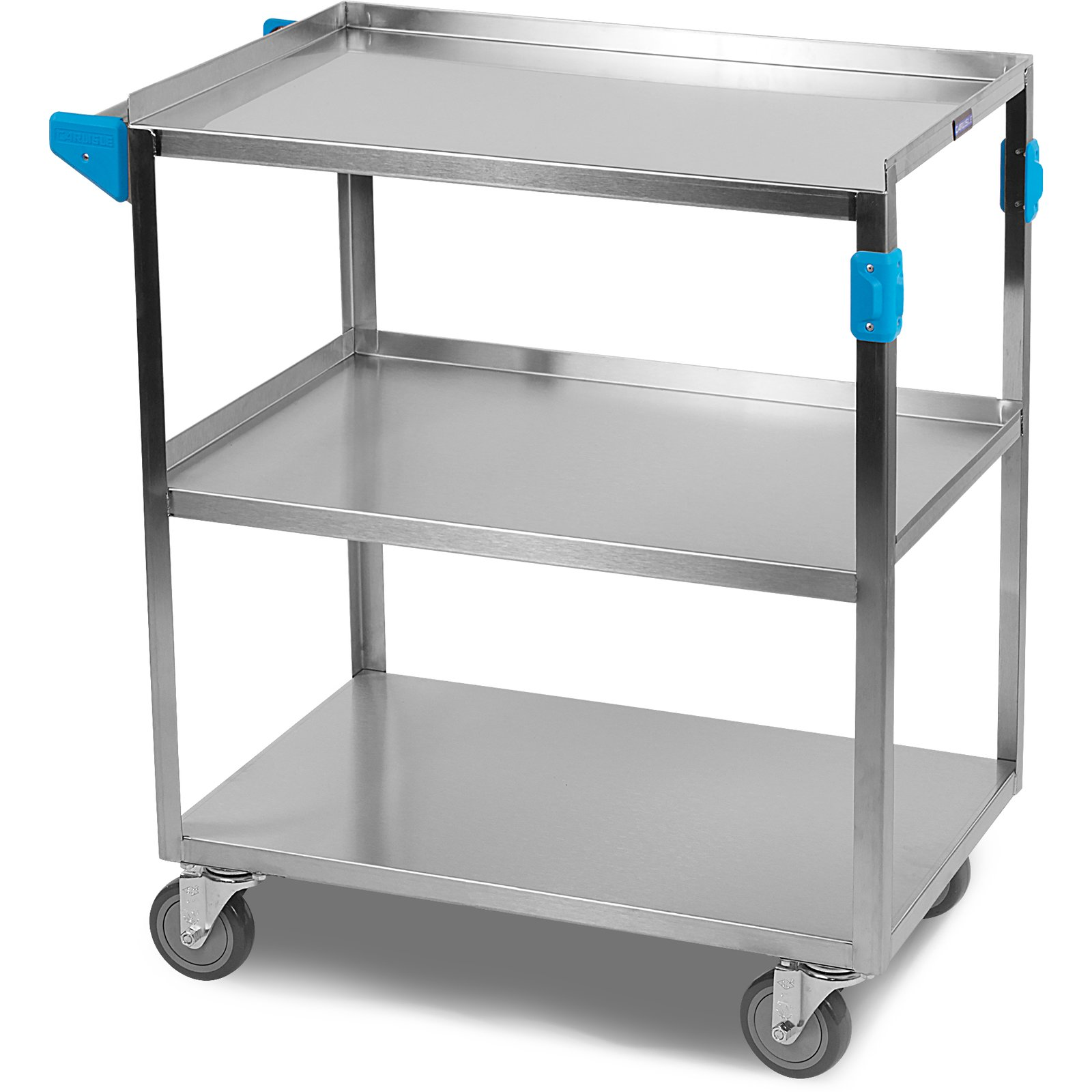 UC3031827 - Stainless Steel 3 Shelf Utility Cart 17.9\