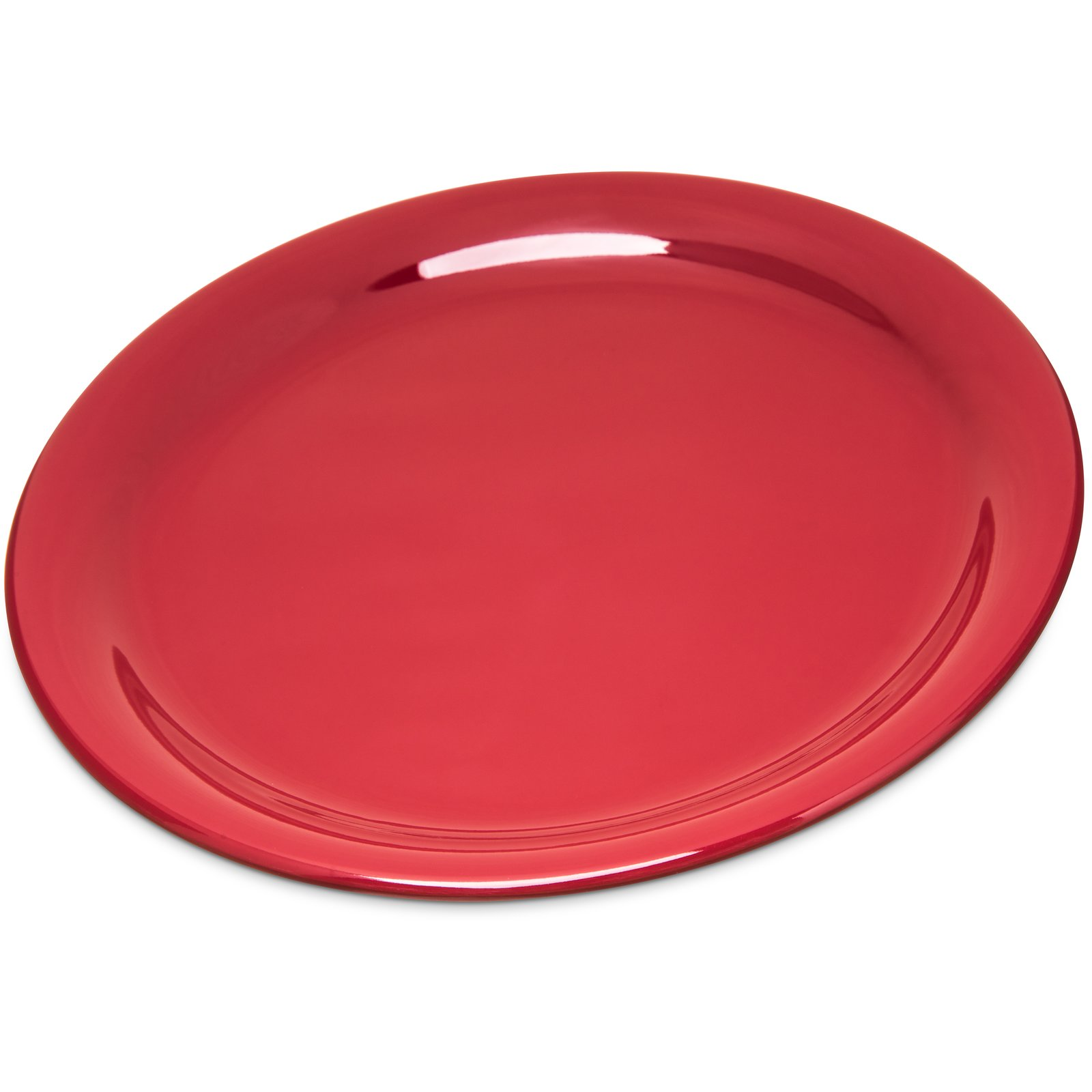 4300458 - Durus® Melamine Narrow Rim Dinner Plate 9\  - Roma Red  sc 1 st  Carlisle FoodService Products & 4300458 - Durus® Melamine Narrow Rim Dinner Plate 9\