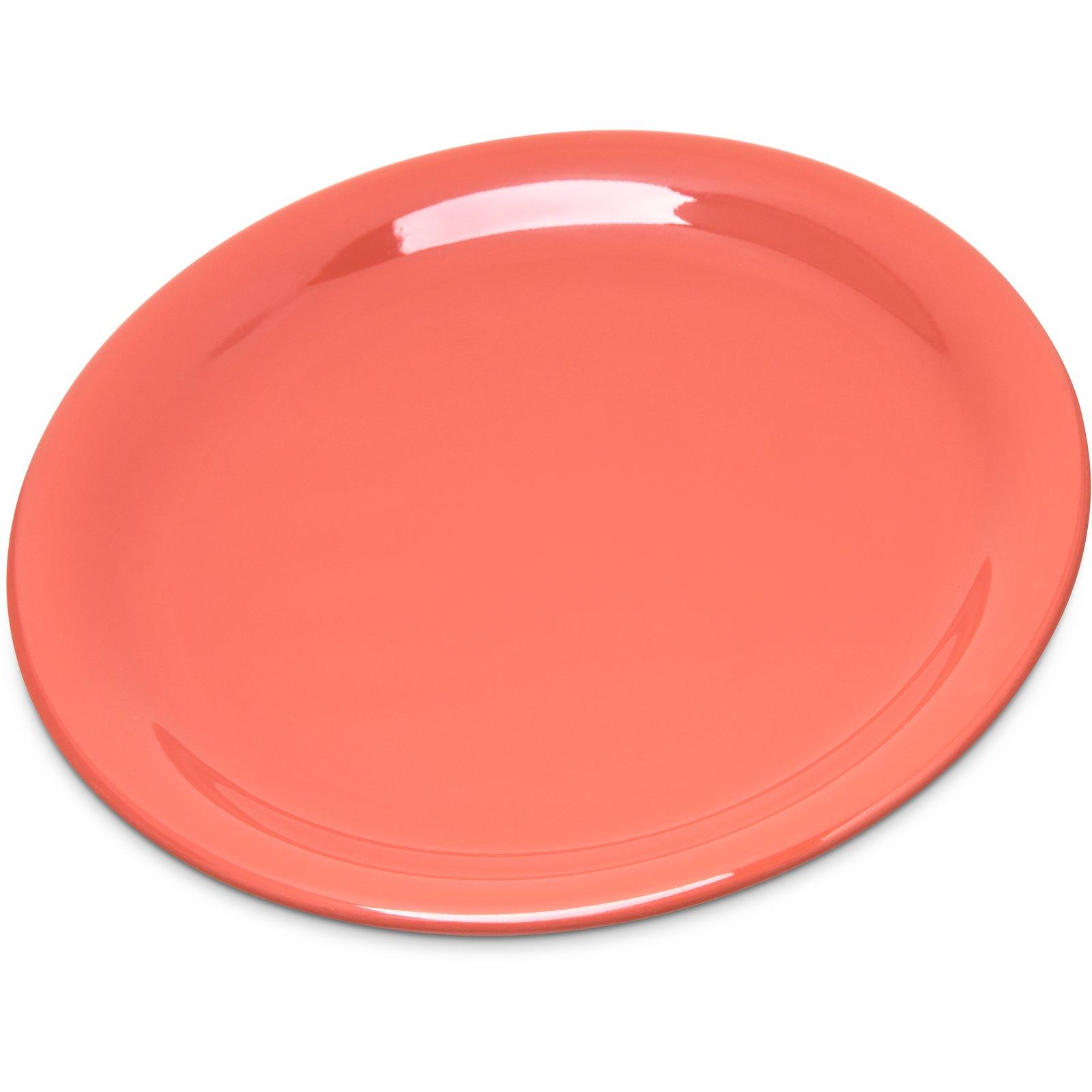 4300852 - Durus® Melamine Narrow Rim Pie Plate 6.5  - Sunset Orange  sc 1 st  Carlisle FoodService Products & 4300852 - Durus® Melamine Narrow Rim Pie Plate 6.5