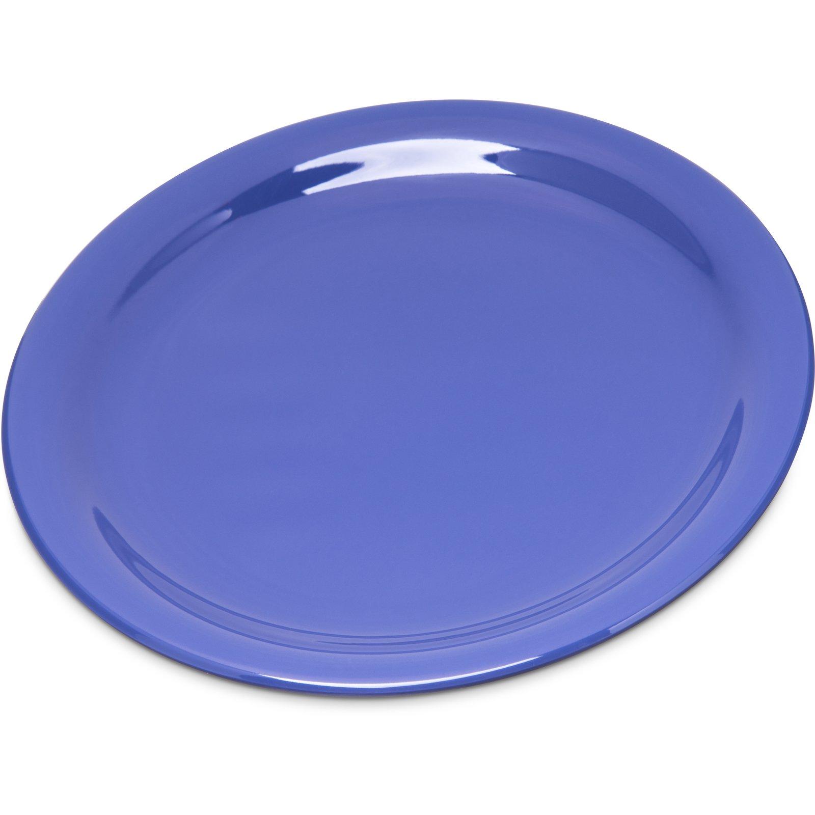 4300614 - Durus® Melamine Salad Plate Narrow Rim 7.25  - Ocean Blue  sc 1 st  Carlisle FoodService Products & 4300614 - Durus® Melamine Salad Plate Narrow Rim 7.25