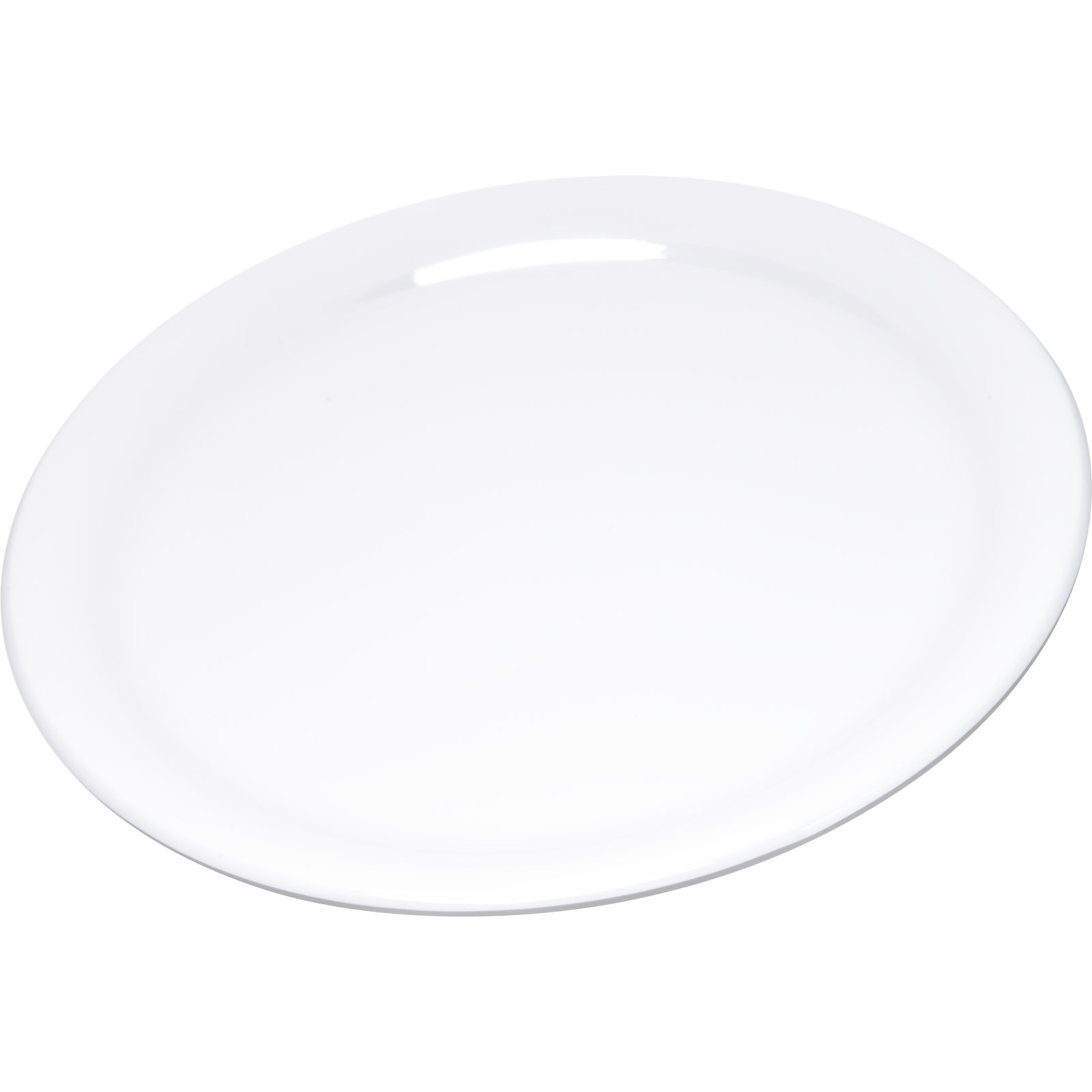 4300402 - Durus® Melamine Narrow Rim Dinner Plate 9\  - White  sc 1 st  Carlisle FoodService Products : melamine oval dinner plates - pezcame.com