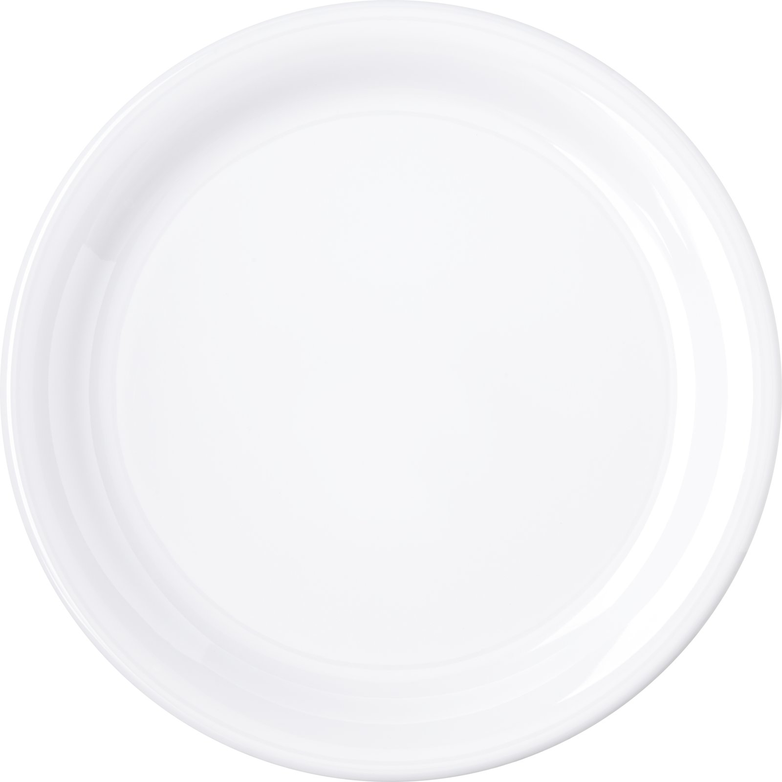 ... 4300402 - Durus® Melamine Narrow Rim Dinner Plate 9\  - White  sc 1 st  Carlisle FoodService Products & 4300402 - Durus® Melamine Narrow Rim Dinner Plate 9\