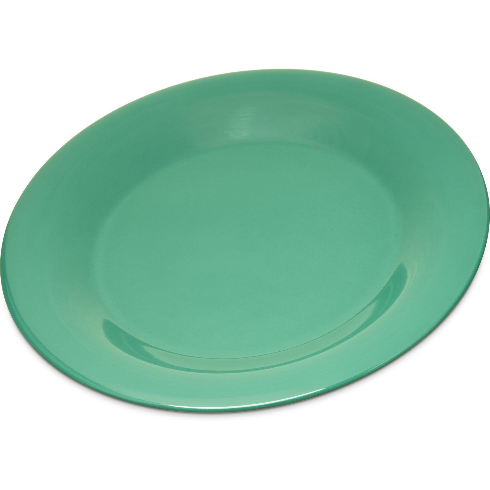 4301209 - Durus® Melamine Wide Rim Dinner Plate 9  - Green  sc 1 st  Carlisle FoodService Products & 4301209 - Durus® Melamine Wide Rim Dinner Plate 9