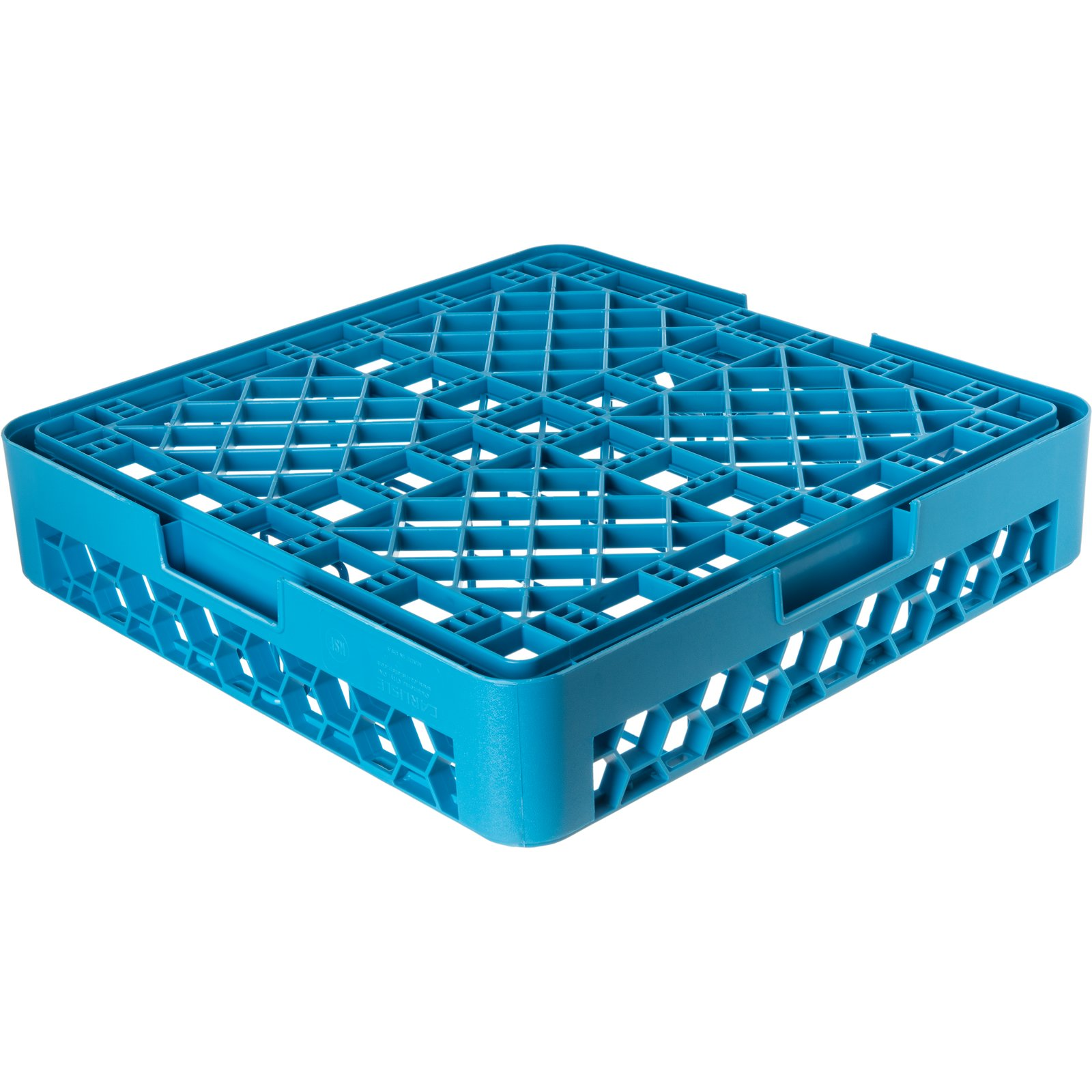 rpc14 opticlean plate cover rack carlisle blue carlisle foodservice products. Black Bedroom Furniture Sets. Home Design Ideas