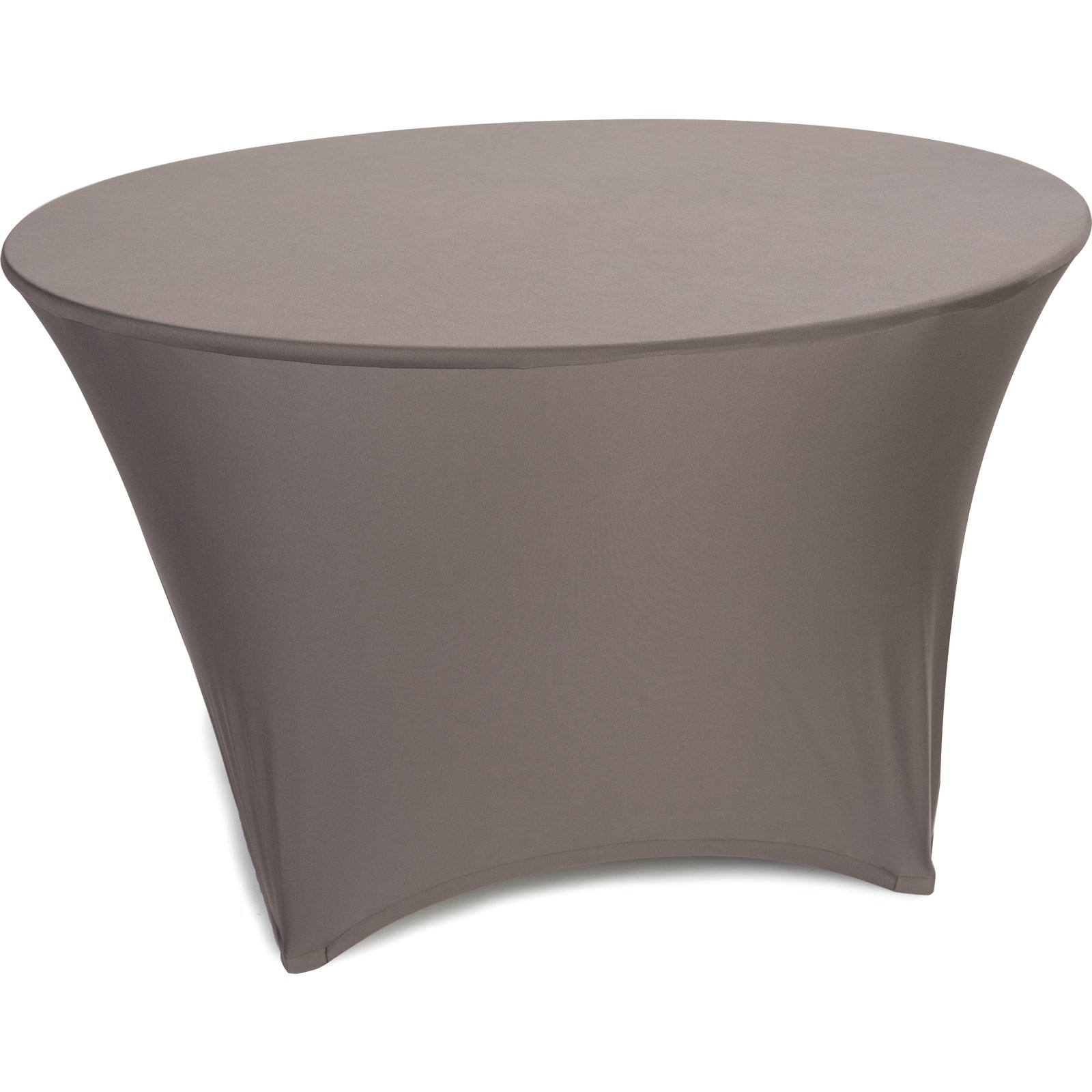 Emb5026r48010 Embrace Round Stretch Table Cover 48 White