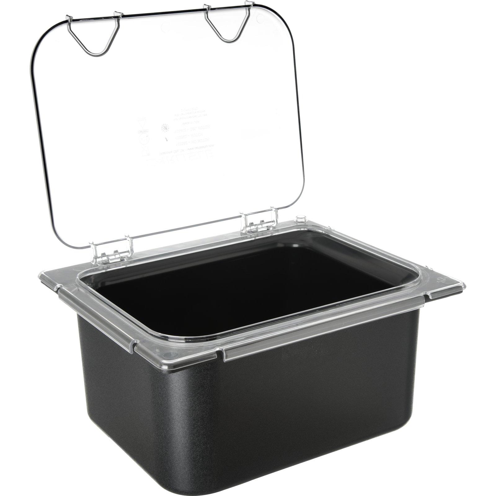 ... CM10238Z07   Coldmaster® EZ Access Lid 1/2 Size   Clear