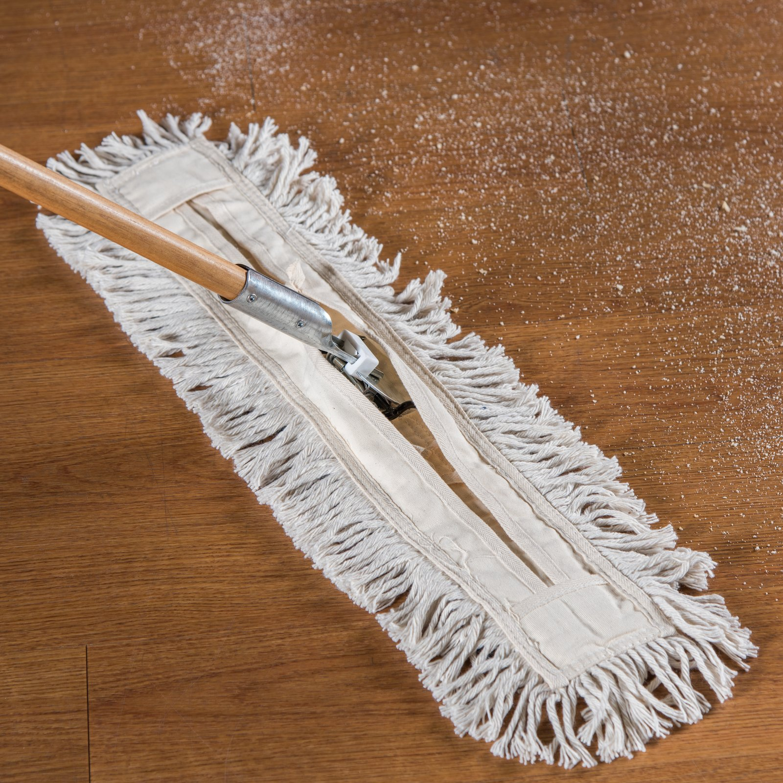 364732400 Flo Pac Tie Back Dust Mop 24 X 3 Natural Carlisle Foodservice Products