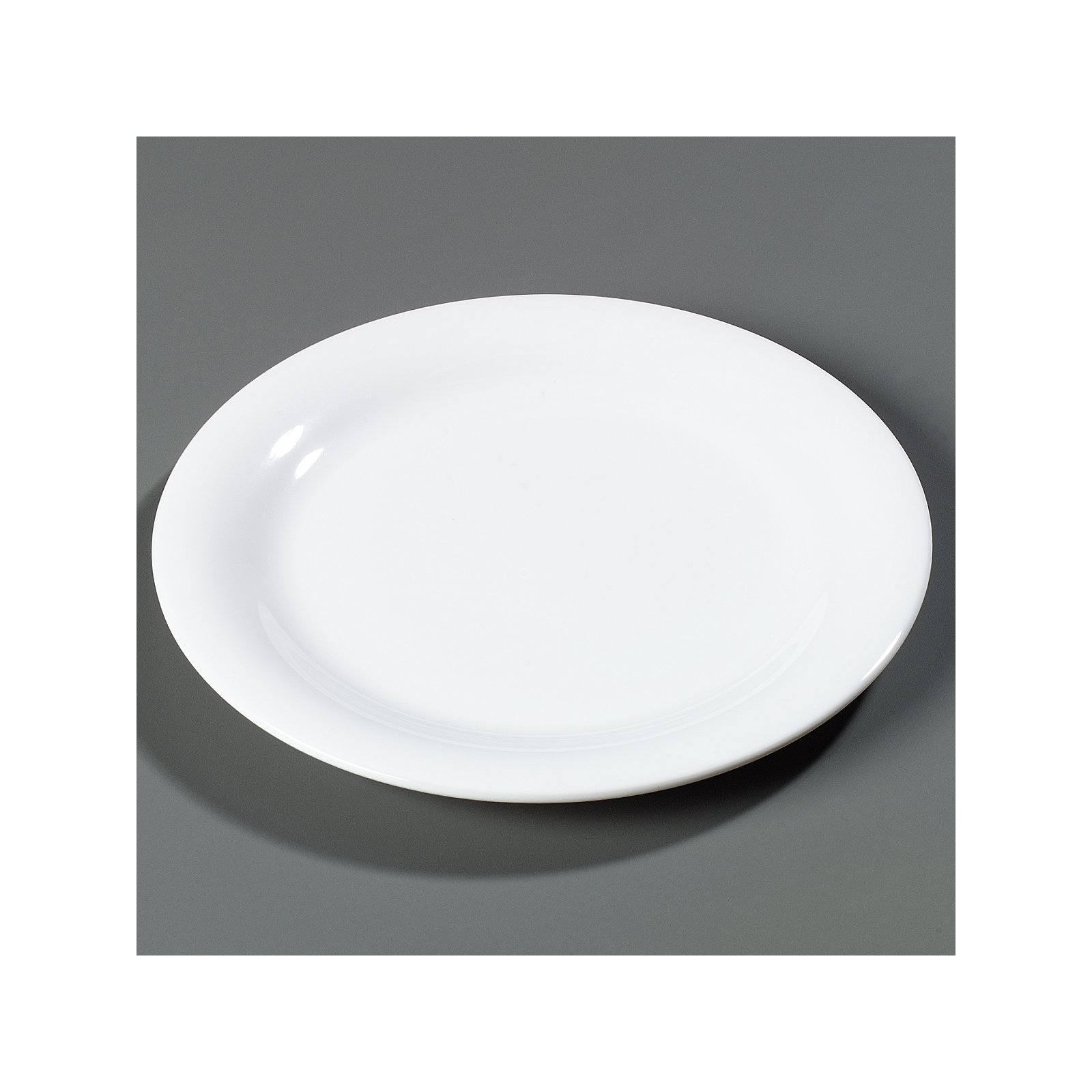... 3300402 - Sierrus™ Melamine Narrow Rim Dinner Plate 9\  - White  sc 1 st  Carlisle FoodService Products & 3300402 - Sierrus™ Melamine Narrow Rim Dinner Plate 9\
