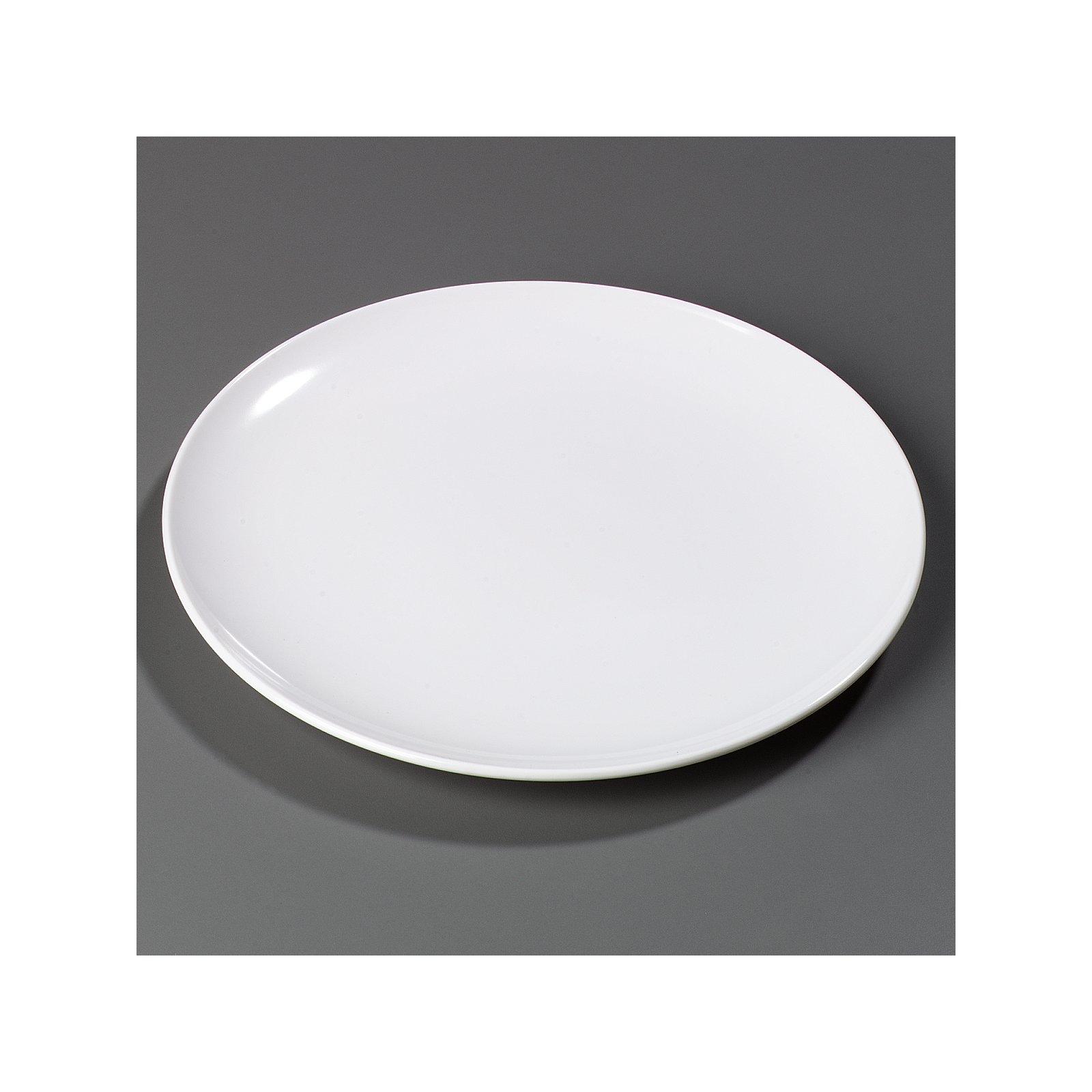 4380002 - Epicure® Melamine Buffet Pizza Plate 12  - White  sc 1 st  Carlisle FoodService Products & 4380002 - Epicure® Melamine Buffet Pizza Plate 12